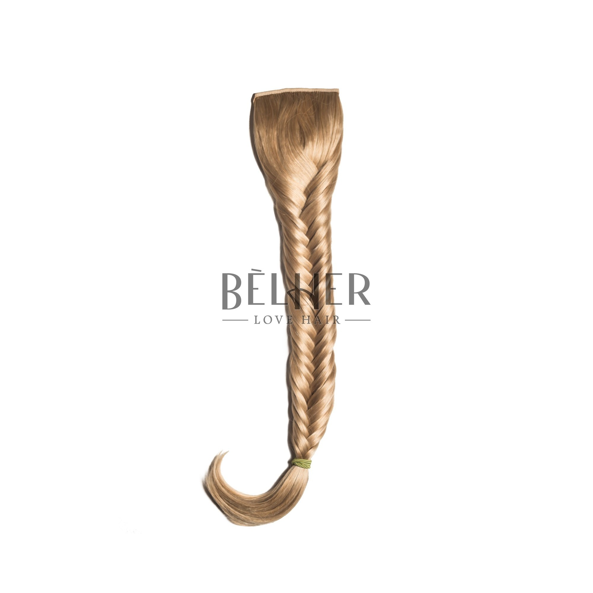 Coada Par Impletit Blond Auriu