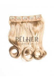 Blond Bej Tresa Clip-On Ondulat