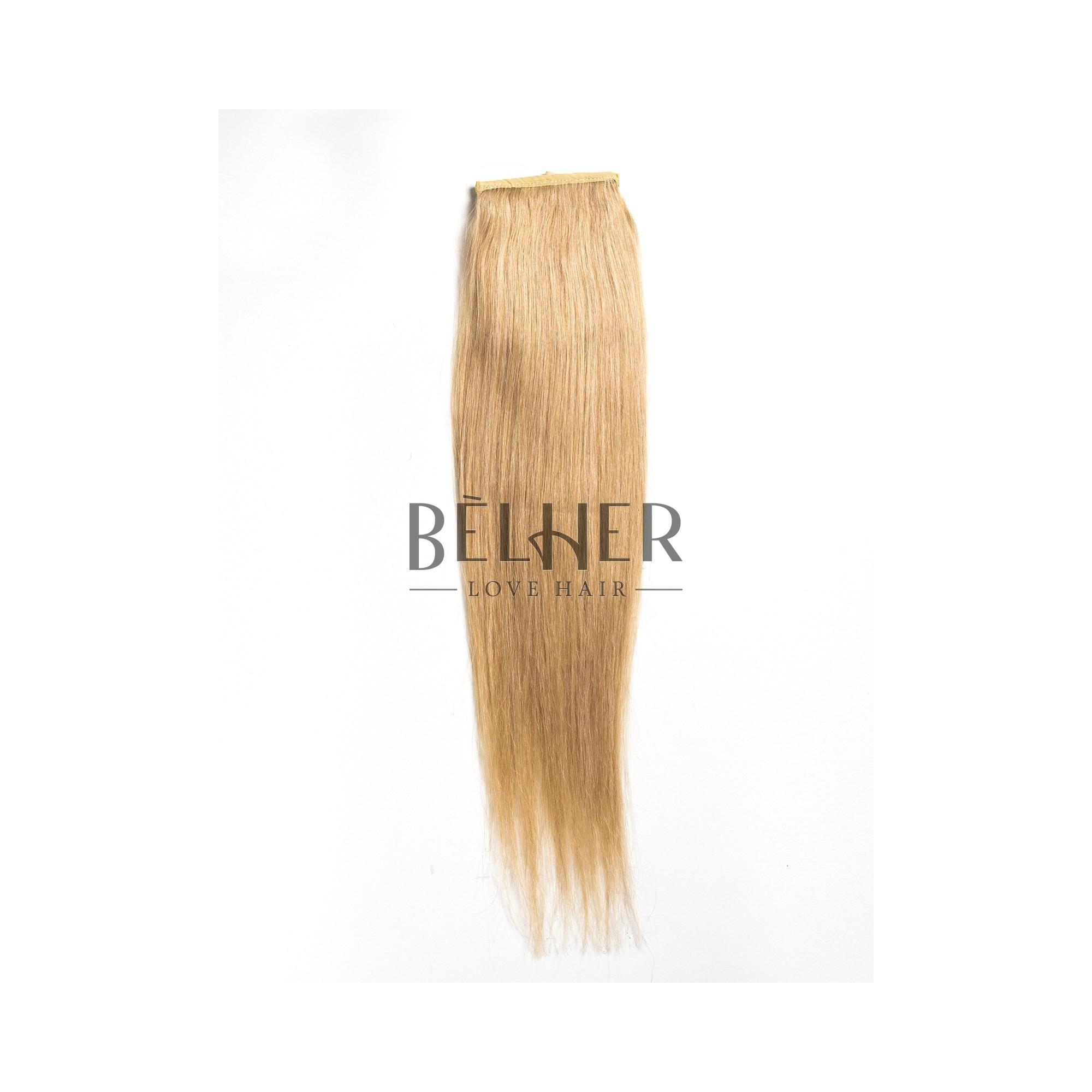 Coada Premium Blond Cenusiu