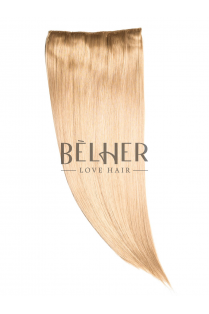 Blond Mediu Tresa Clip-On