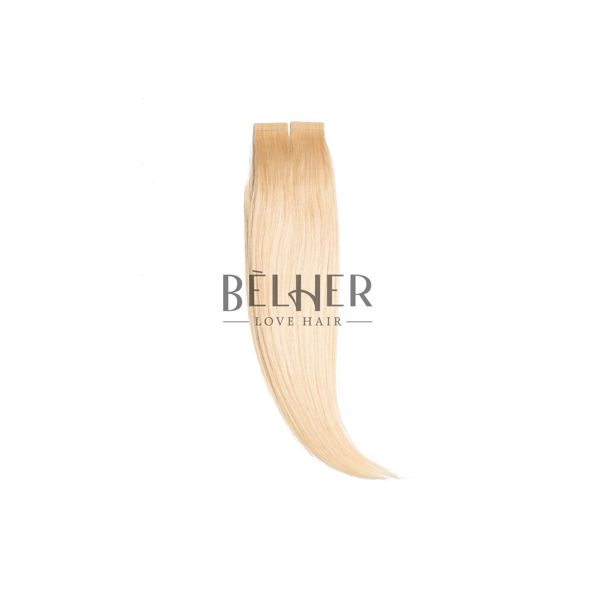 Extensii Tape-On Premium Blond Deschis