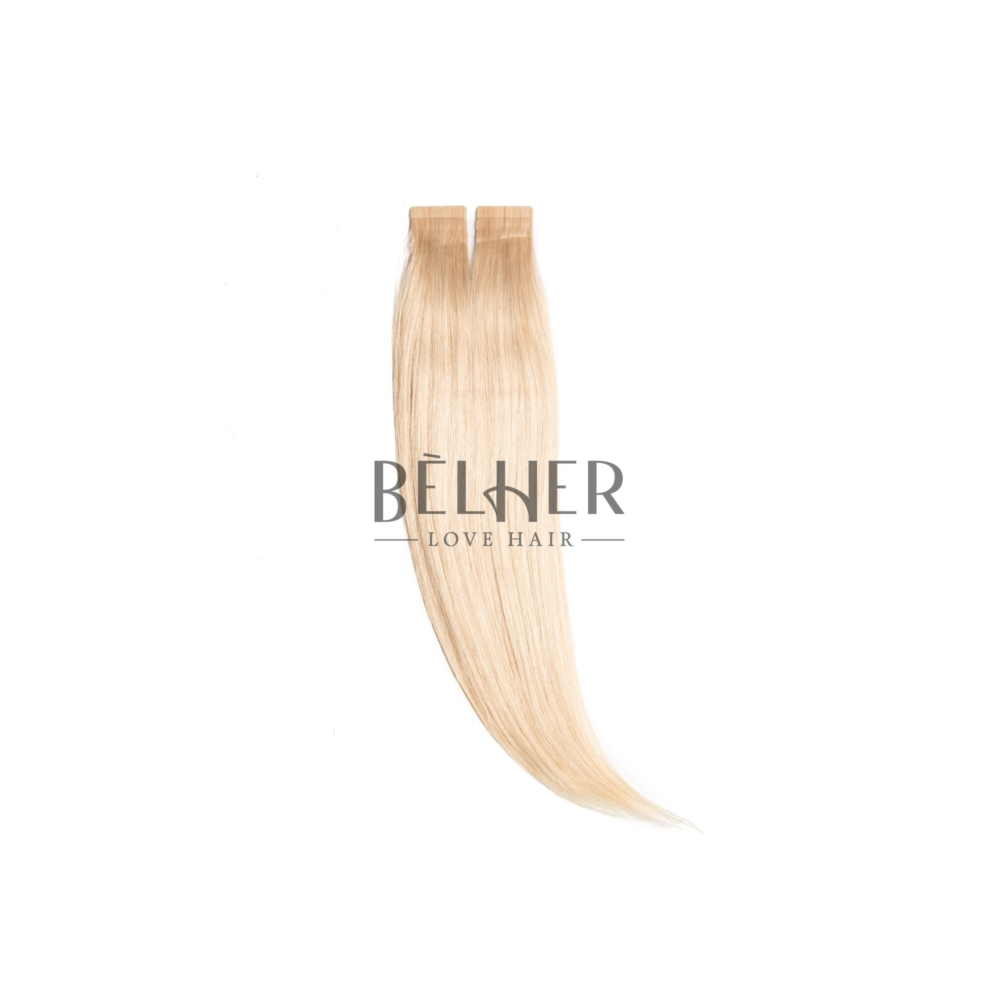 Extensii Tape-On Premium Blond Platinat