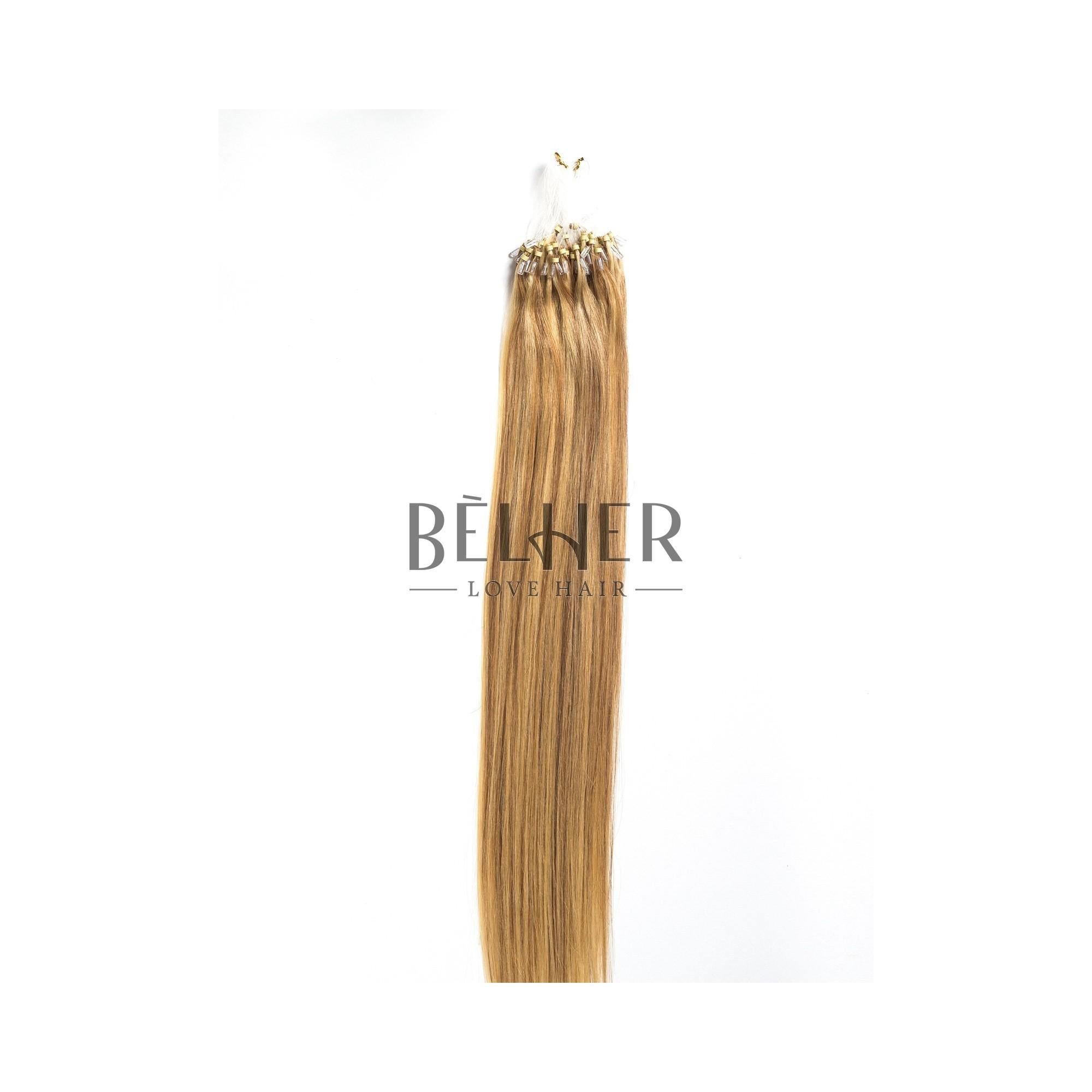 Extensii Microring Premium Mix Blond Auriu