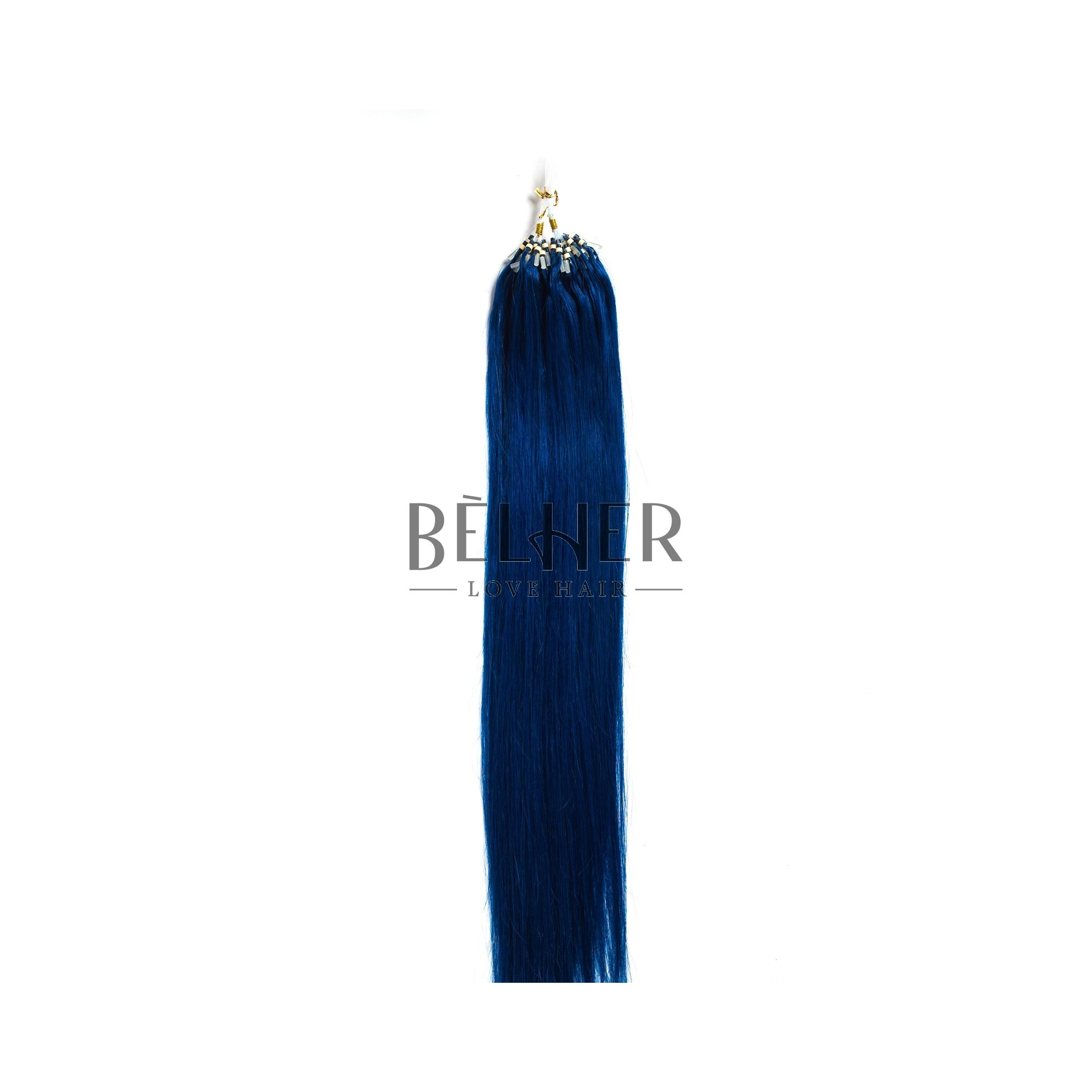 Extensii Microring Premium Albastru
