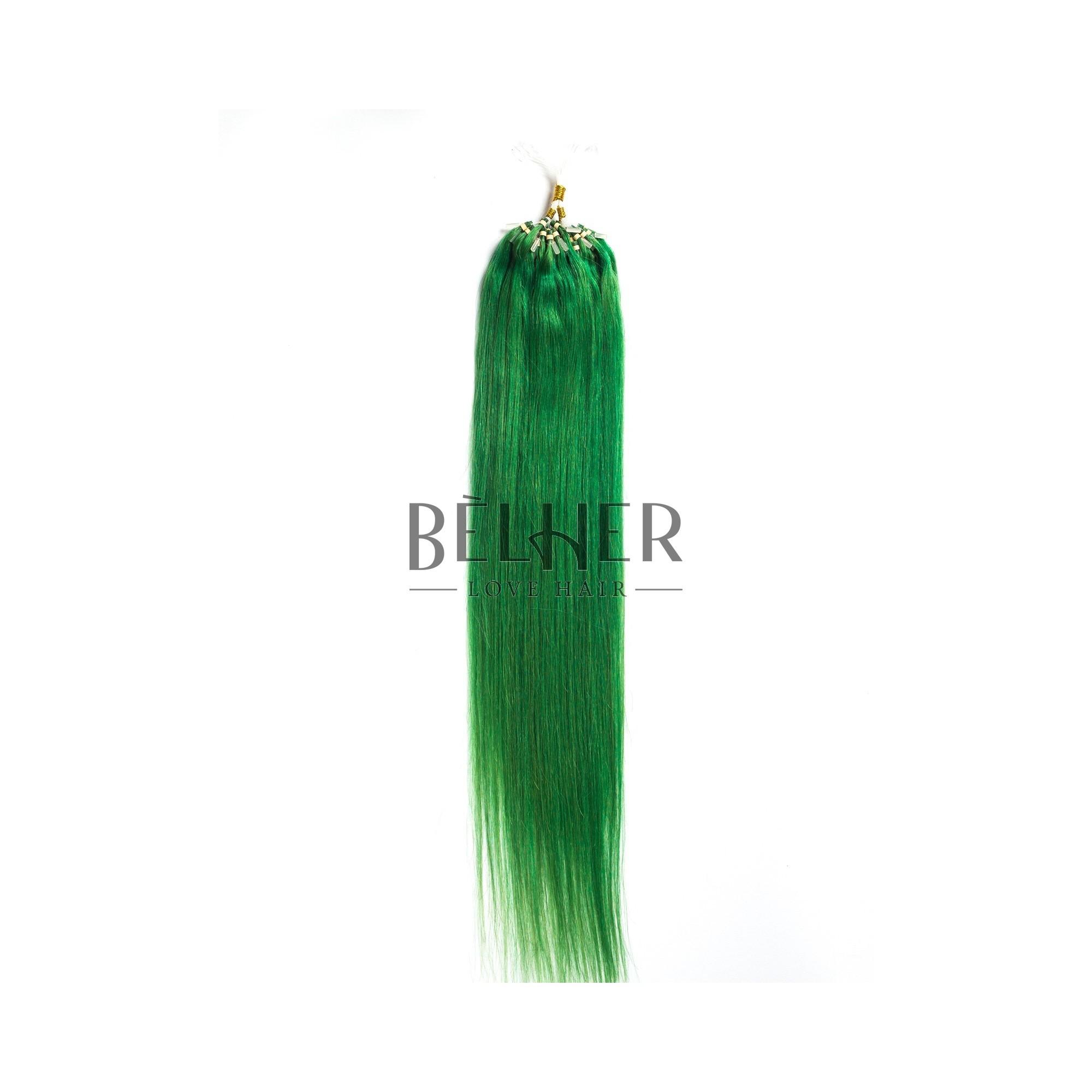Extensii Microring Premium Verde