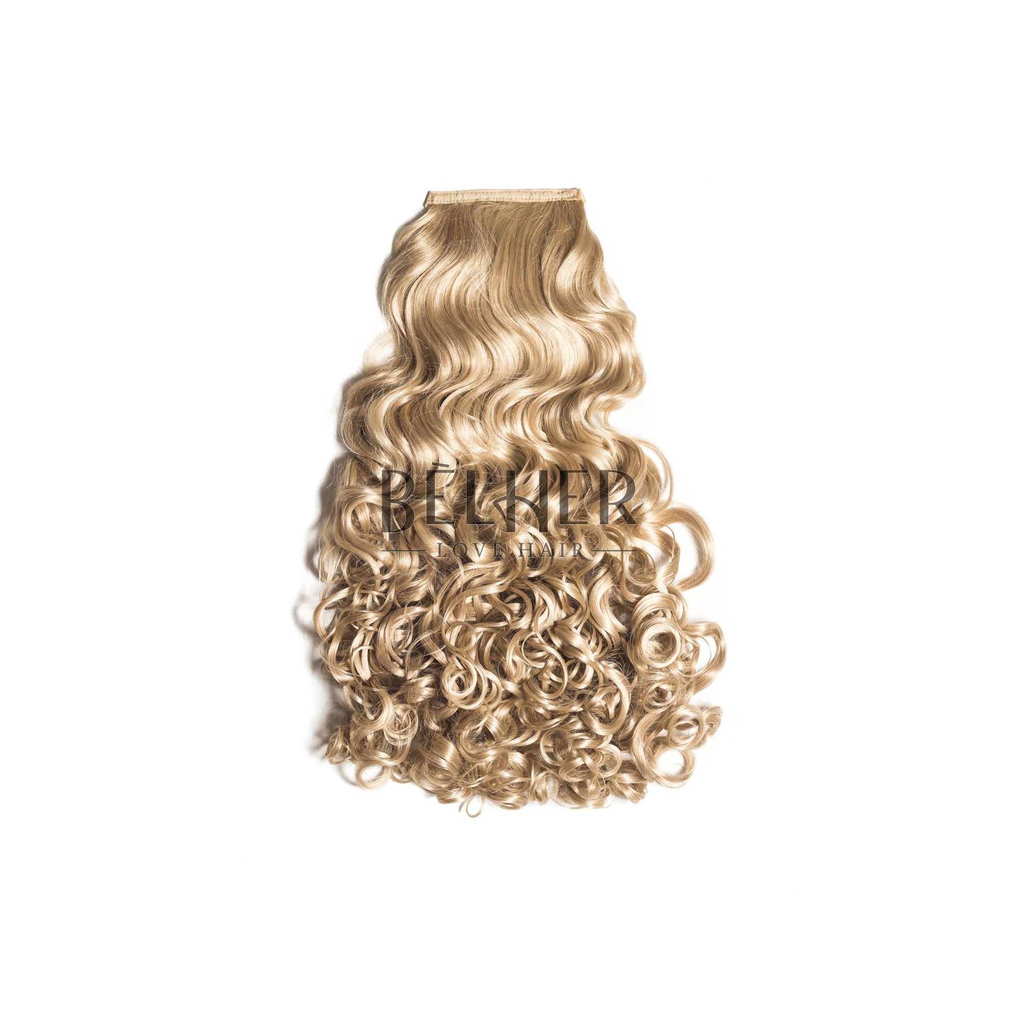 Coada Par Cret Blond Luminos