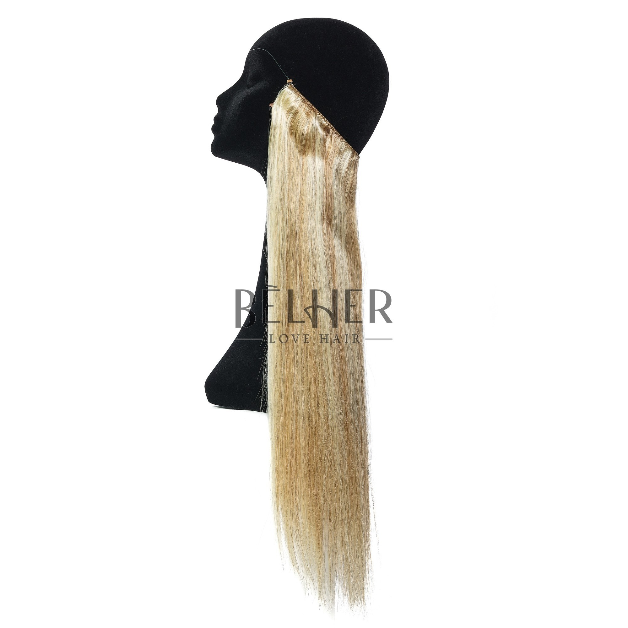 Extensii Flip-In Premium Mix Blond Cenusiu