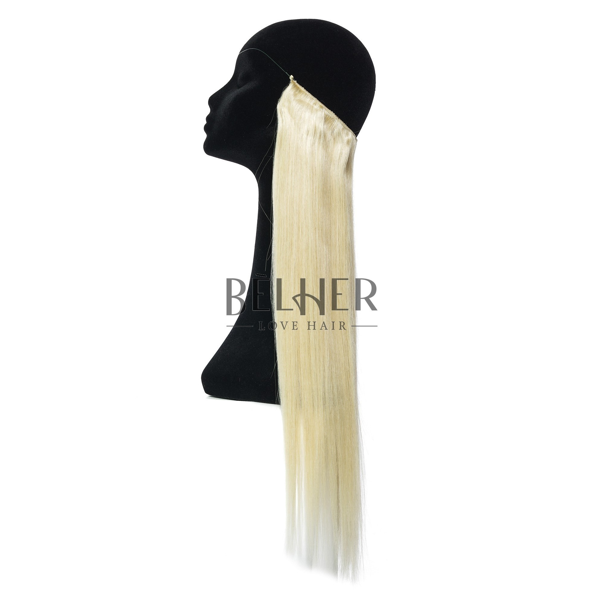 Extensii Flip-In Premium Blond Deschis