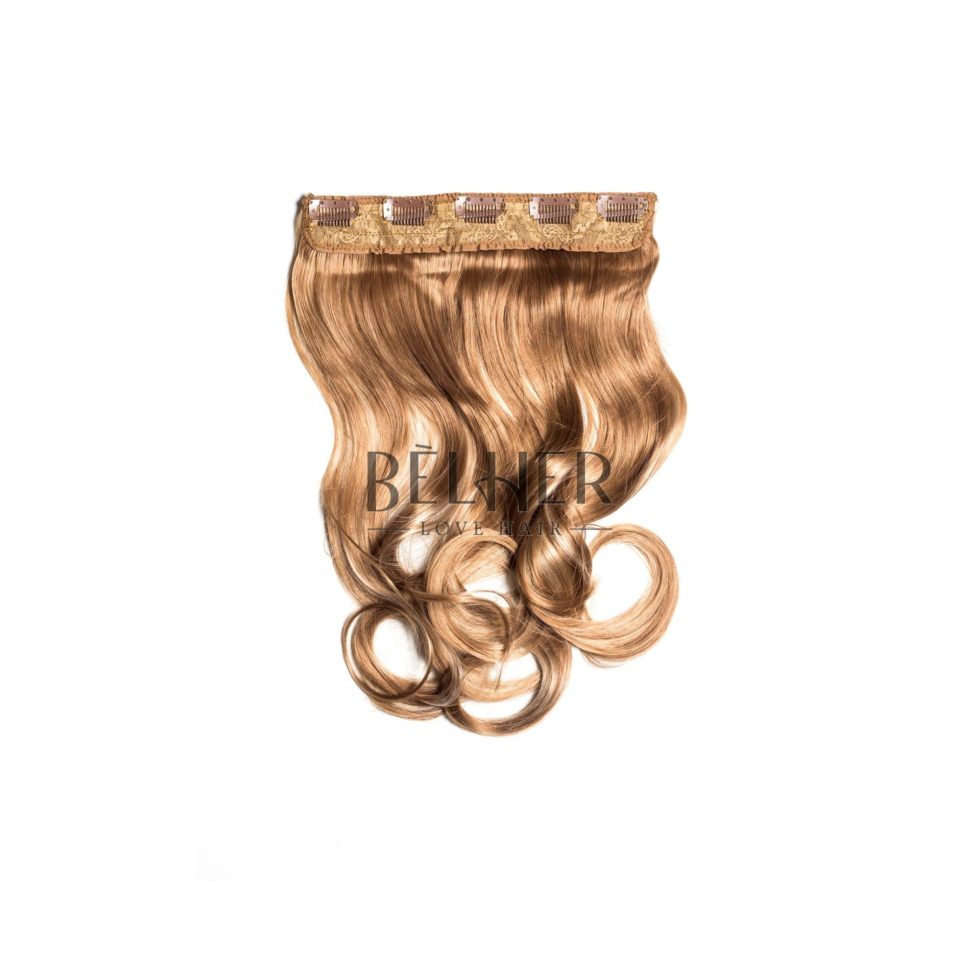 Tresa Clip-On Ondulat Mix Blond