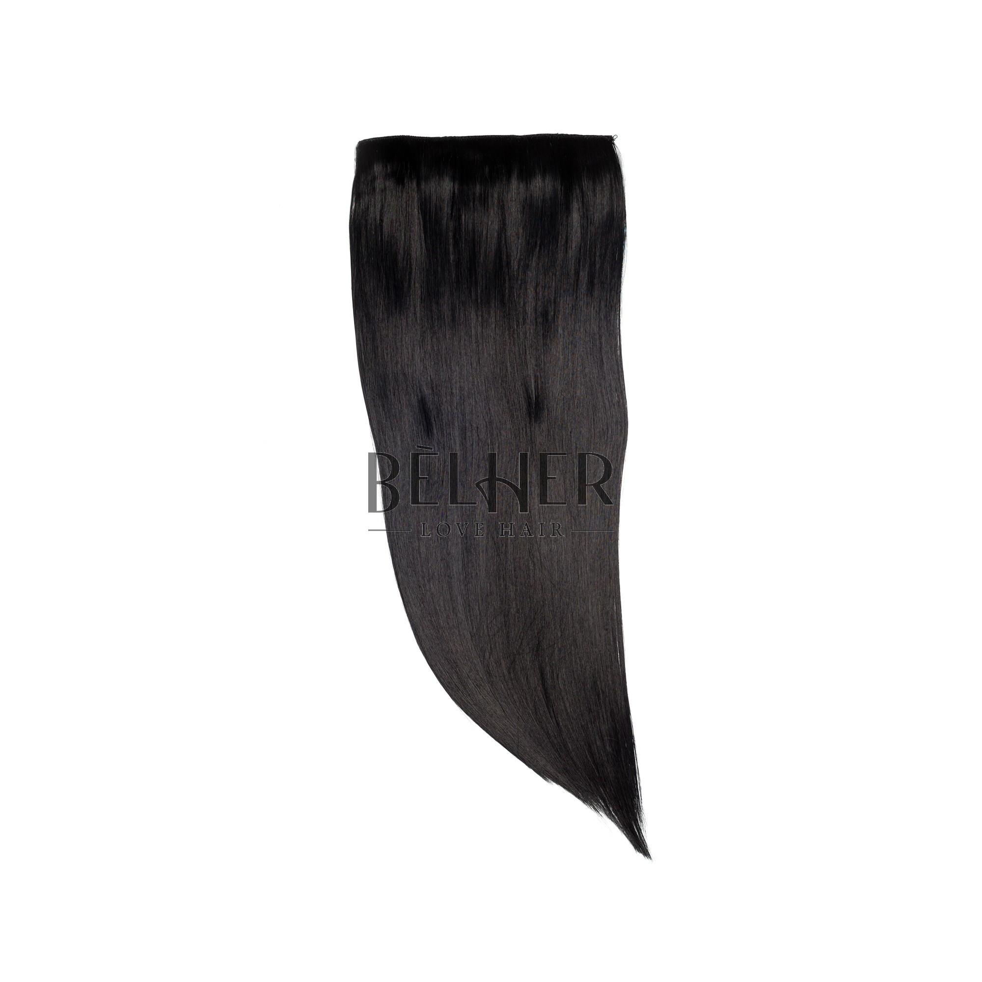 Tresa Clip-On Negru Intens