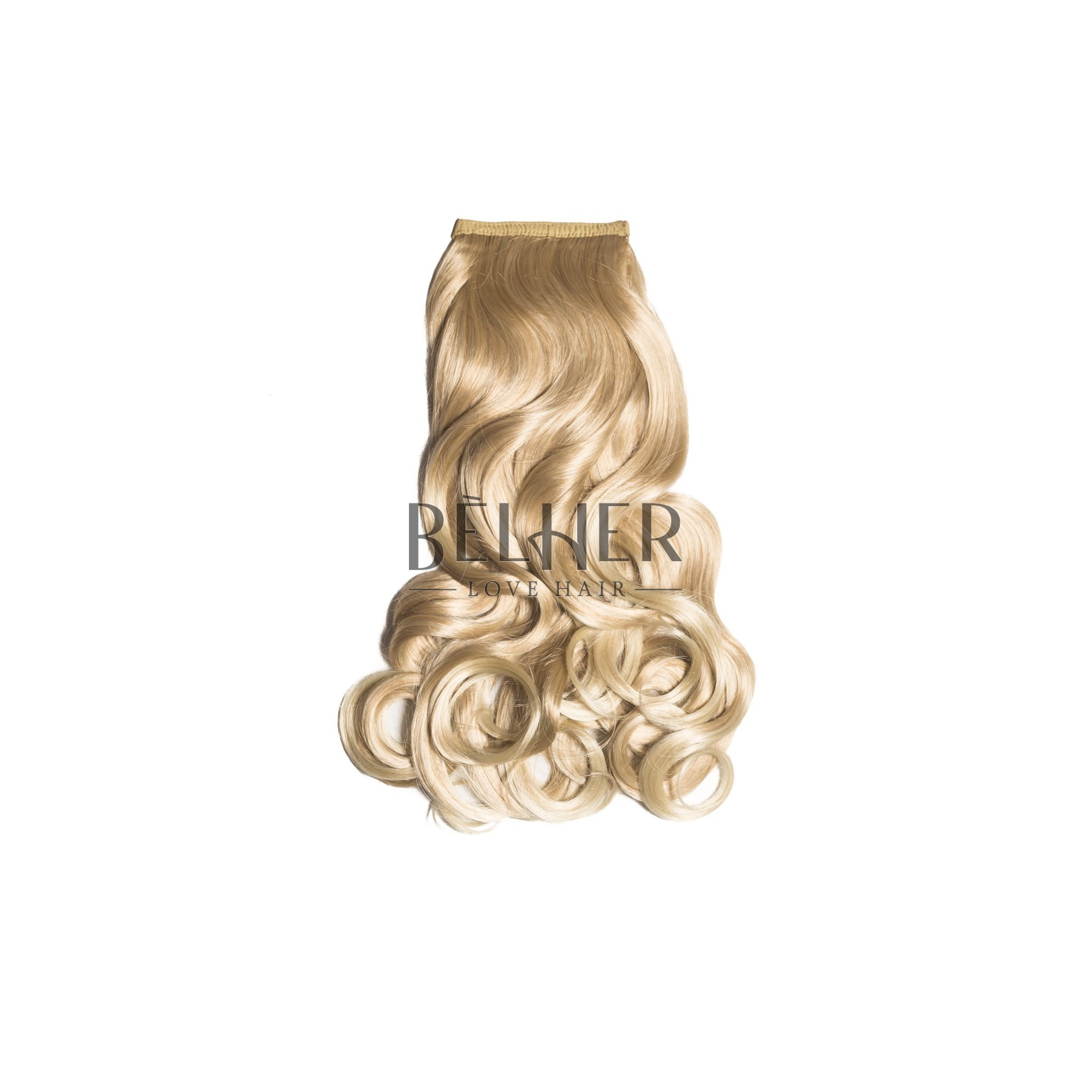 Coada Par Ondulat Mix Blond