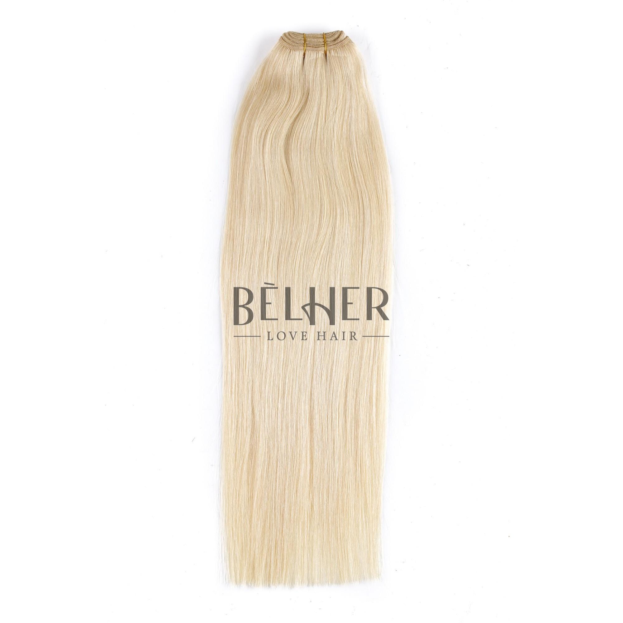 Extensii Cusute Deluxe Blond Platinat