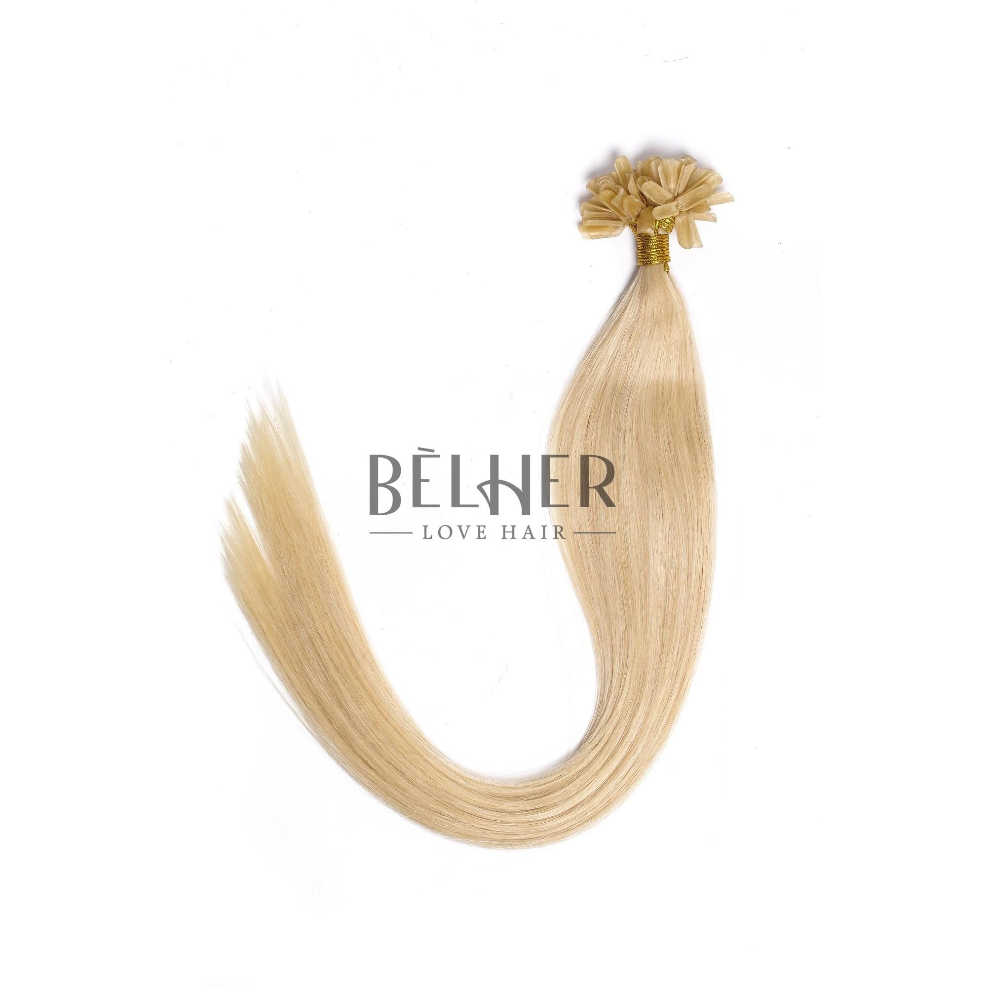 Extensii Cheratina Premium Blond Deschis