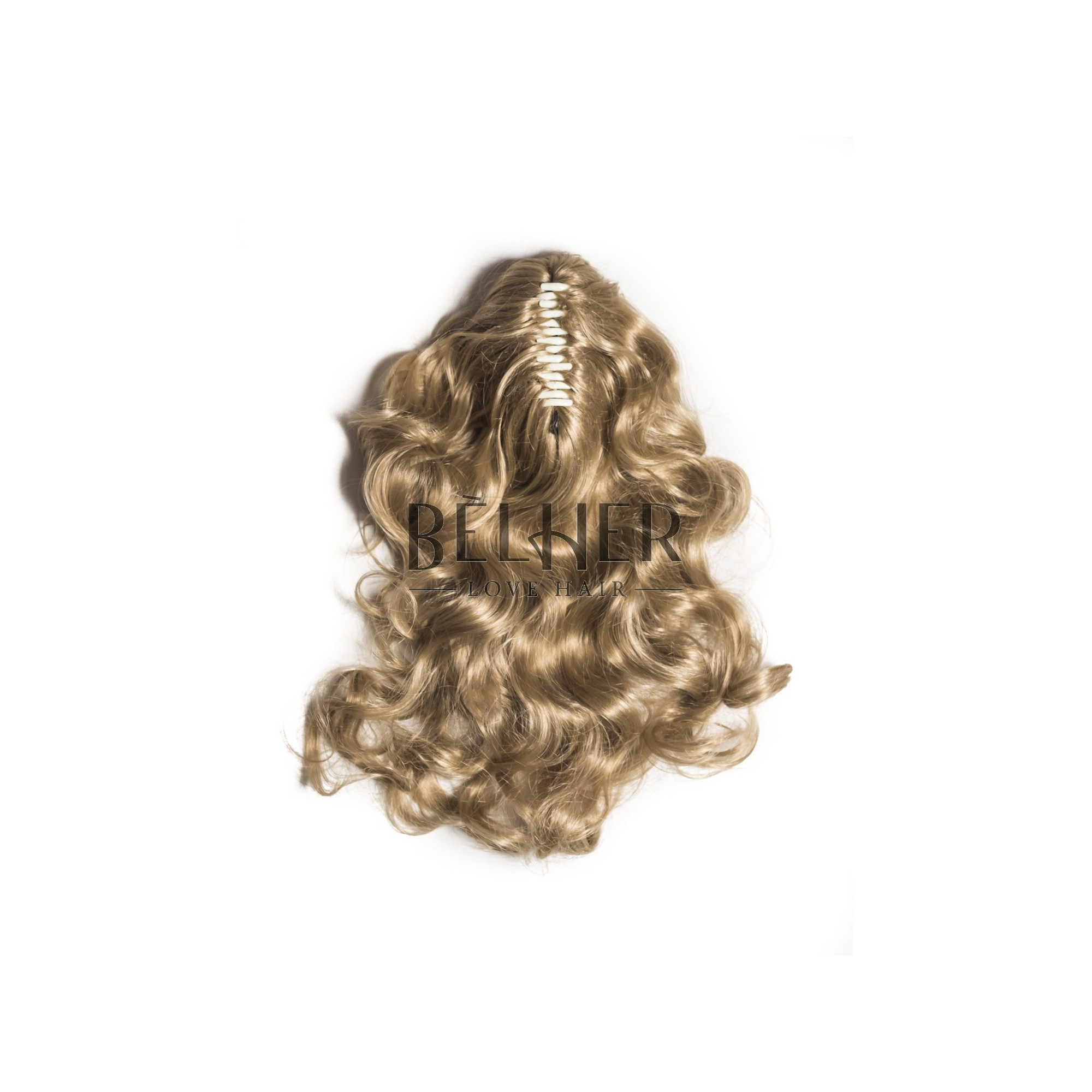 Coada Ondulata Cleste Blond Deschis Cenusiu