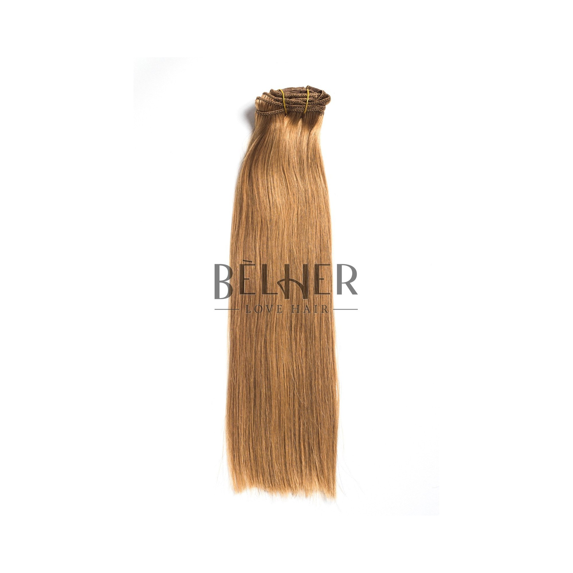 Extensii Clip-On Premium Blond Aluna