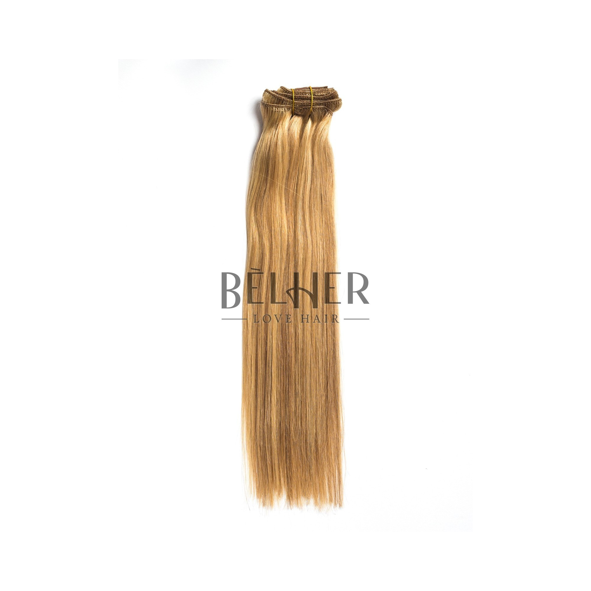 Extensii Clip-On Premium Mix Blond Cenusiu