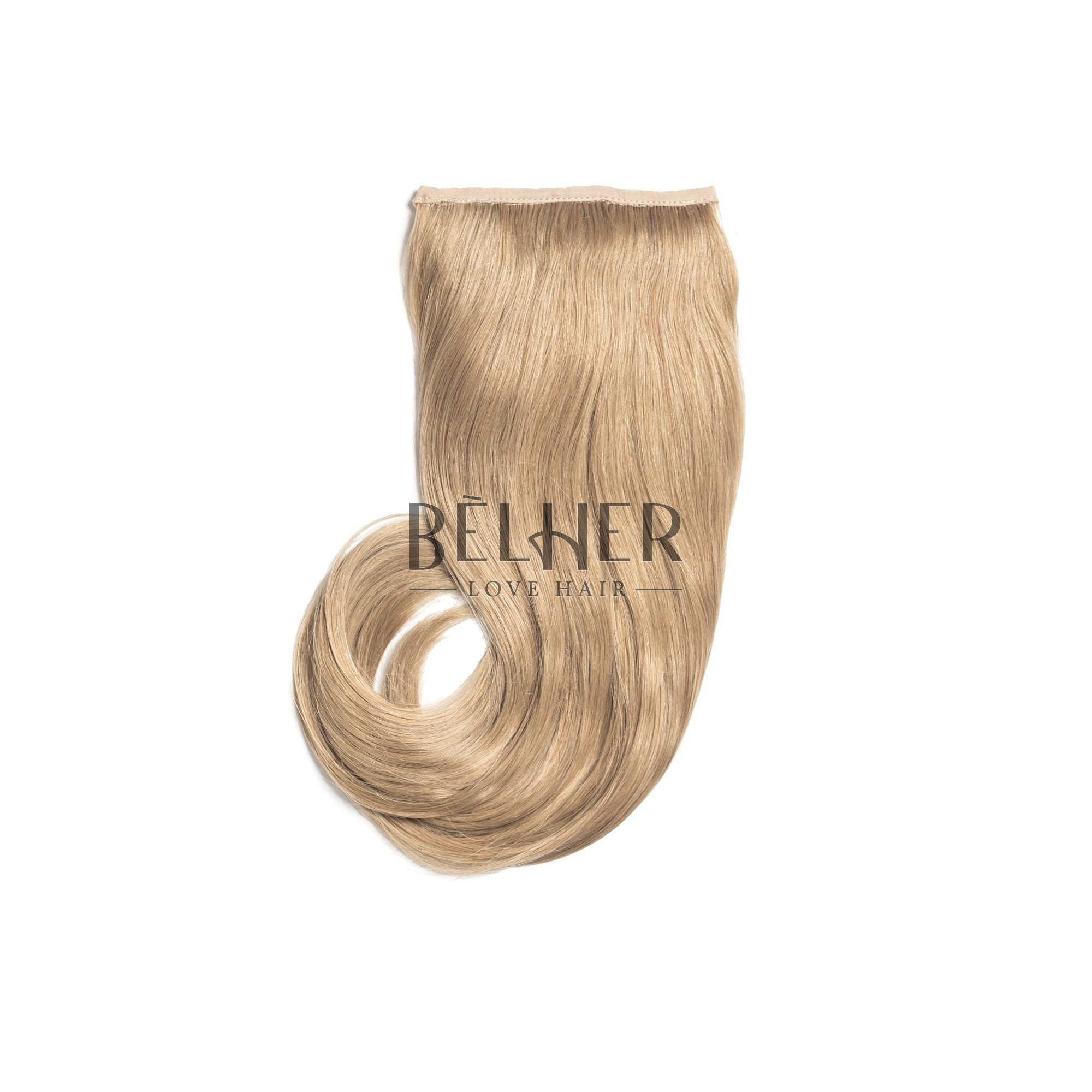 Coada Naturala Retro Blond Aluna