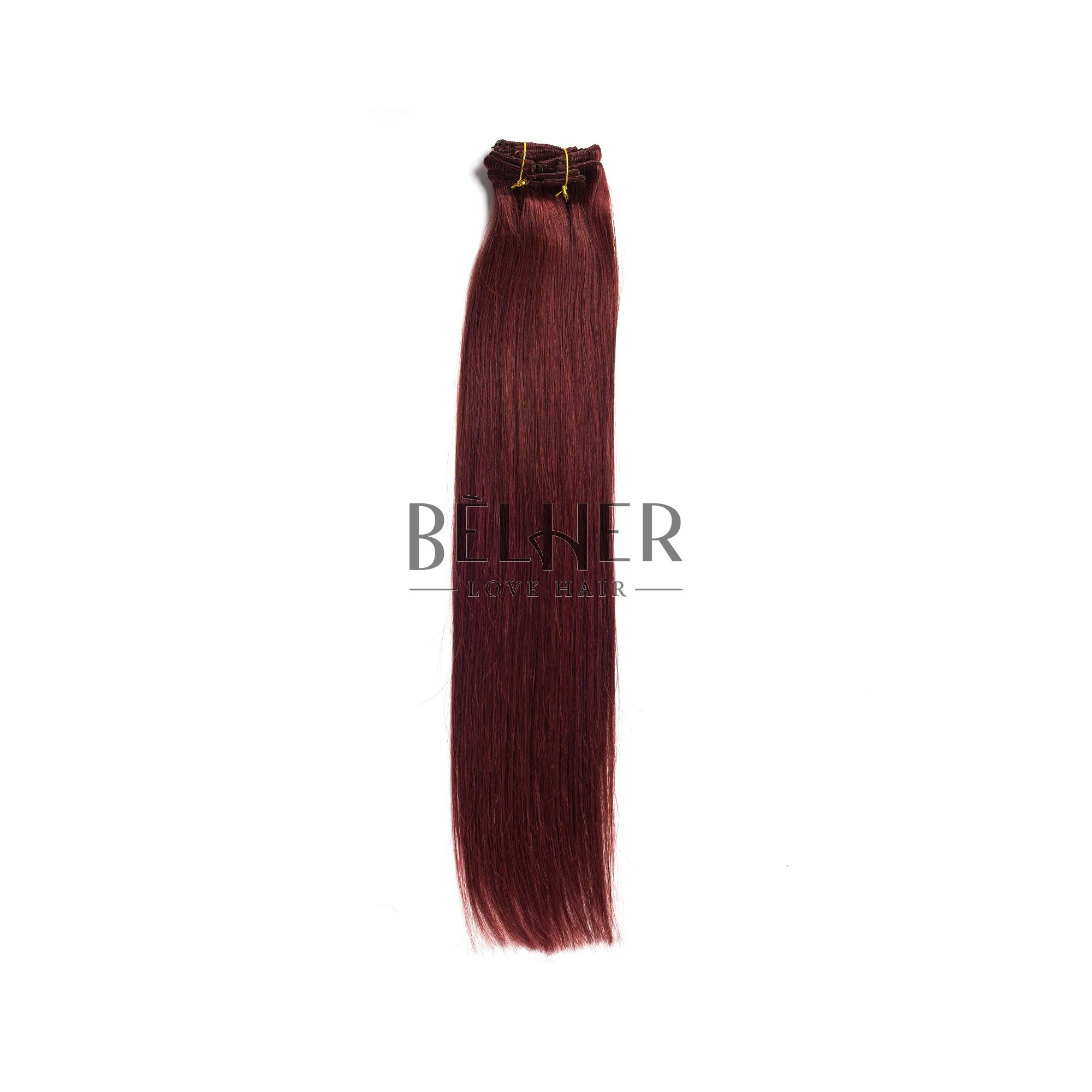 Extensii Clip-On Premium Burgundy
