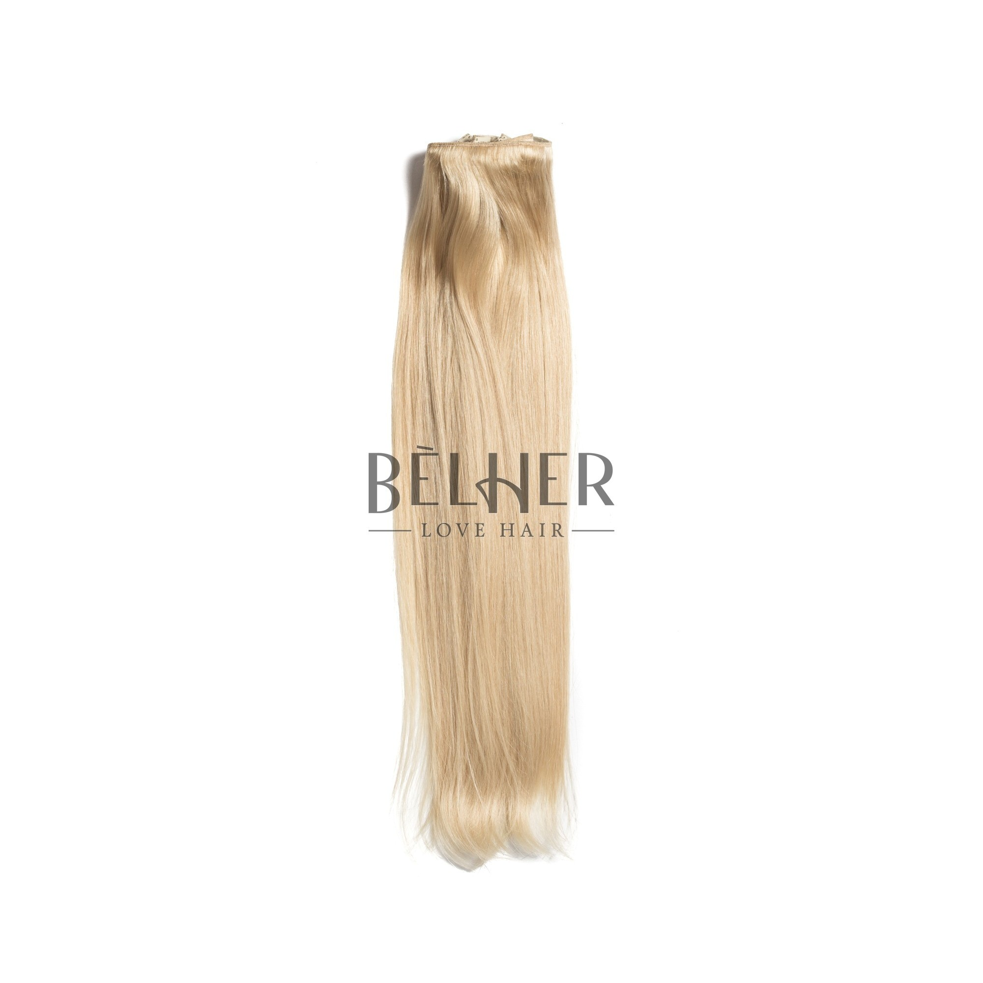 Extensii Clip-On Deluxe Blond Deschis Cenusiu