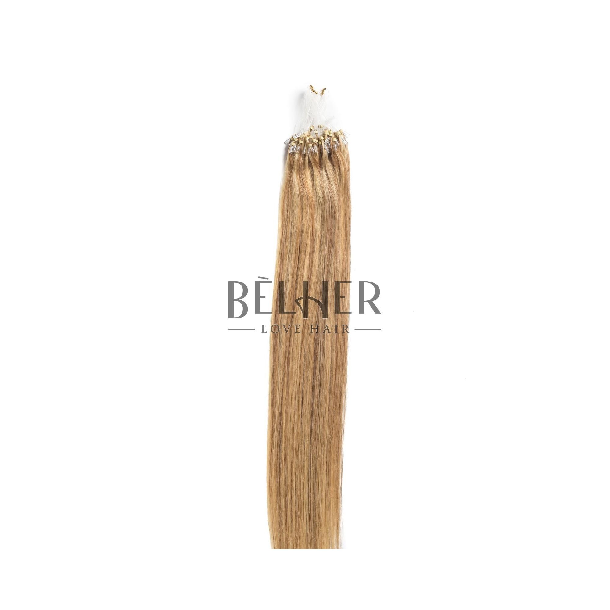 Extensii Microring Premium Mix Blond Cenusiu