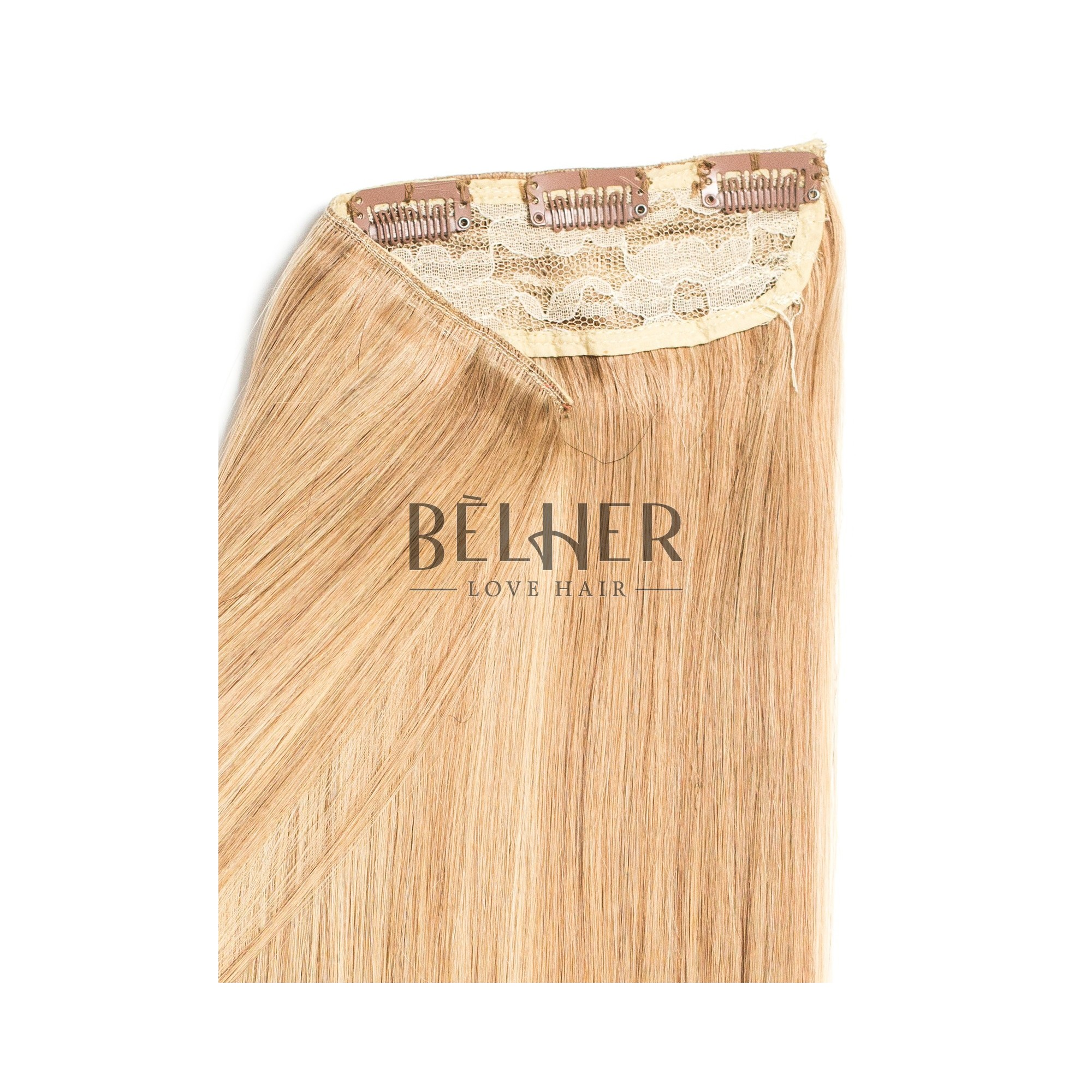 Tresa Clip-On Deluxe Mix Blond Cenusiu