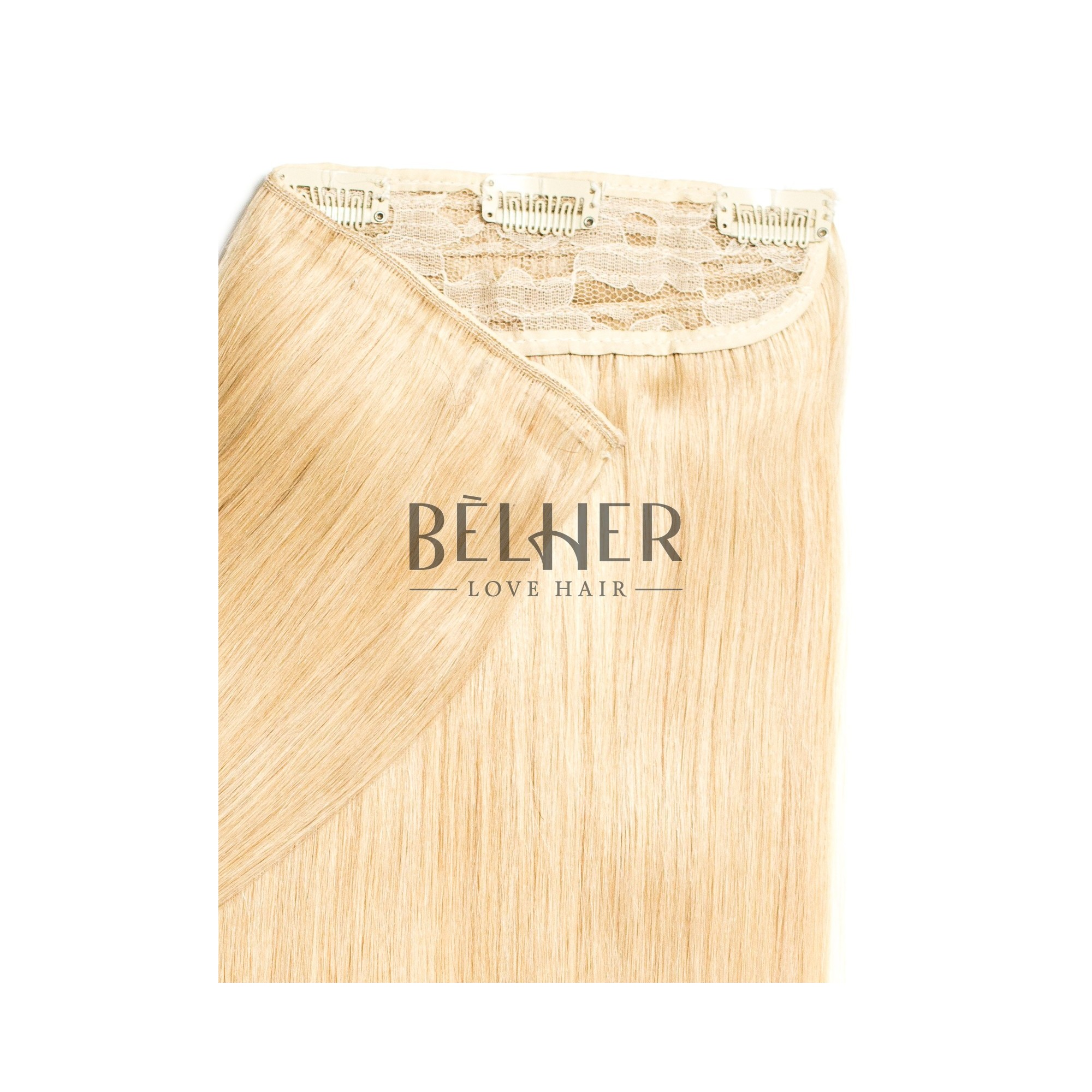 Tresa Clip-On Deluxe Blond Cenusiu Deschis