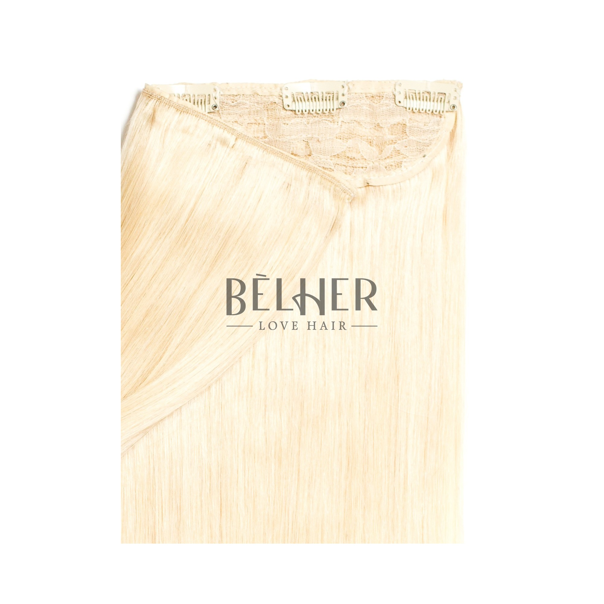 Tresa Clip-On Deluxe Blond Platinat