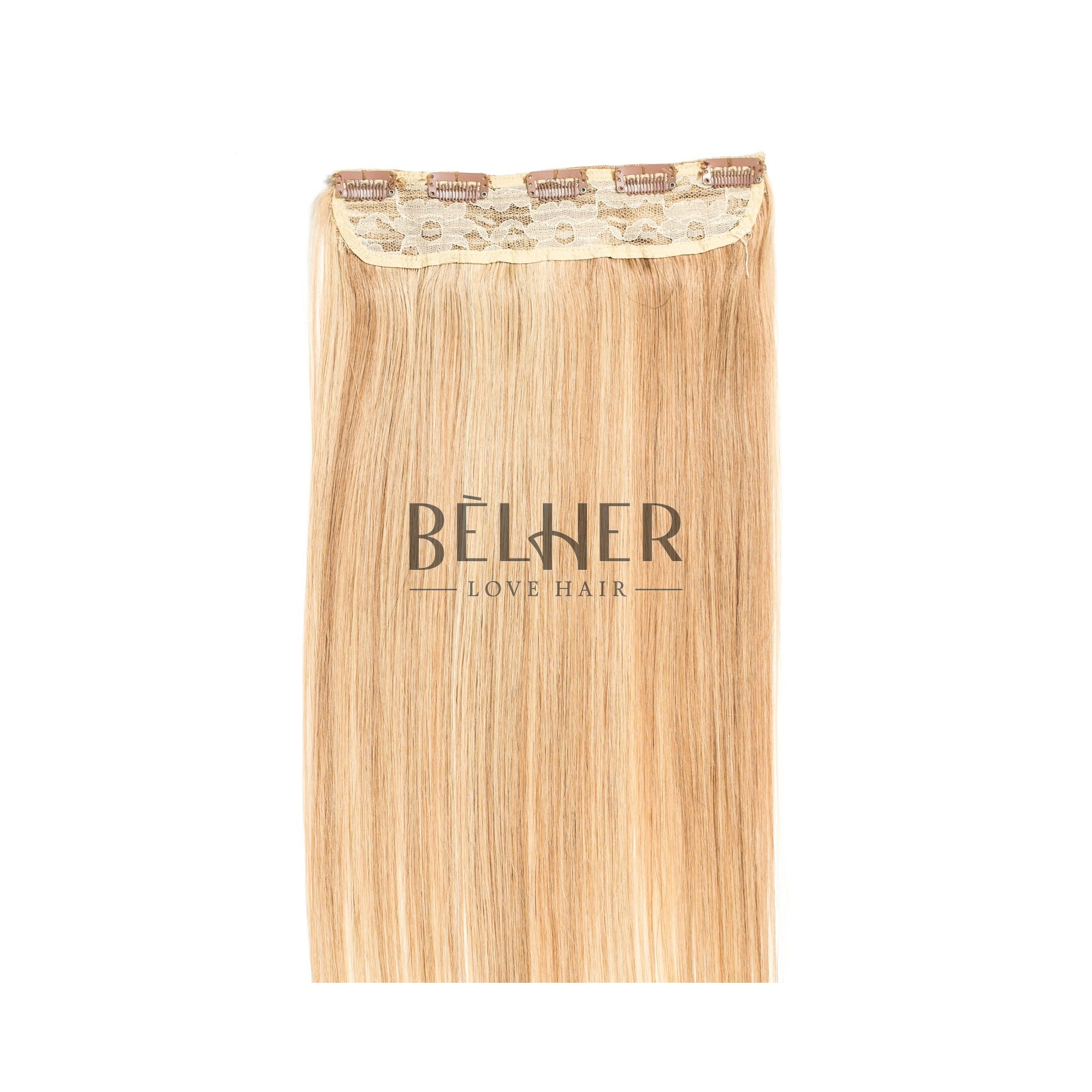 Tresa Clip-On Premium Mix Blond Auriu
