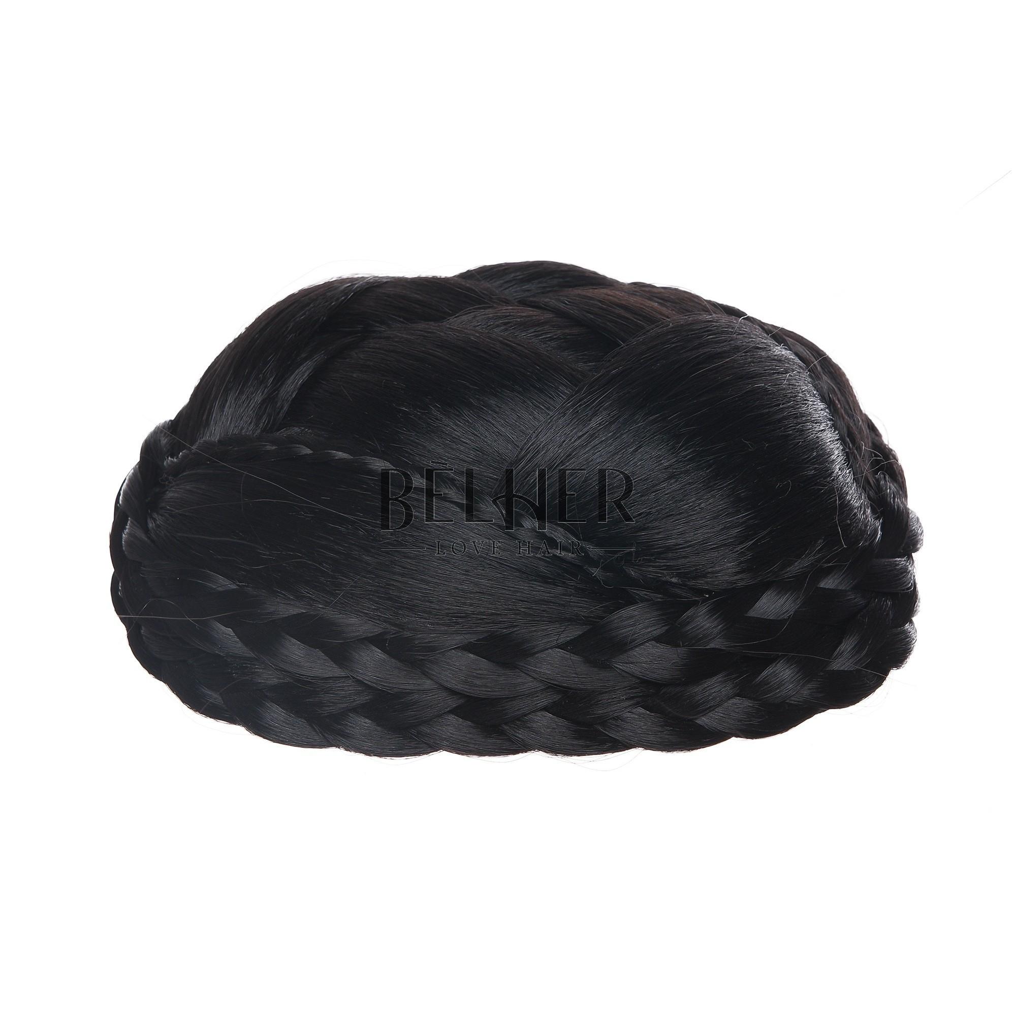 Coc Elegant Negru Intens
