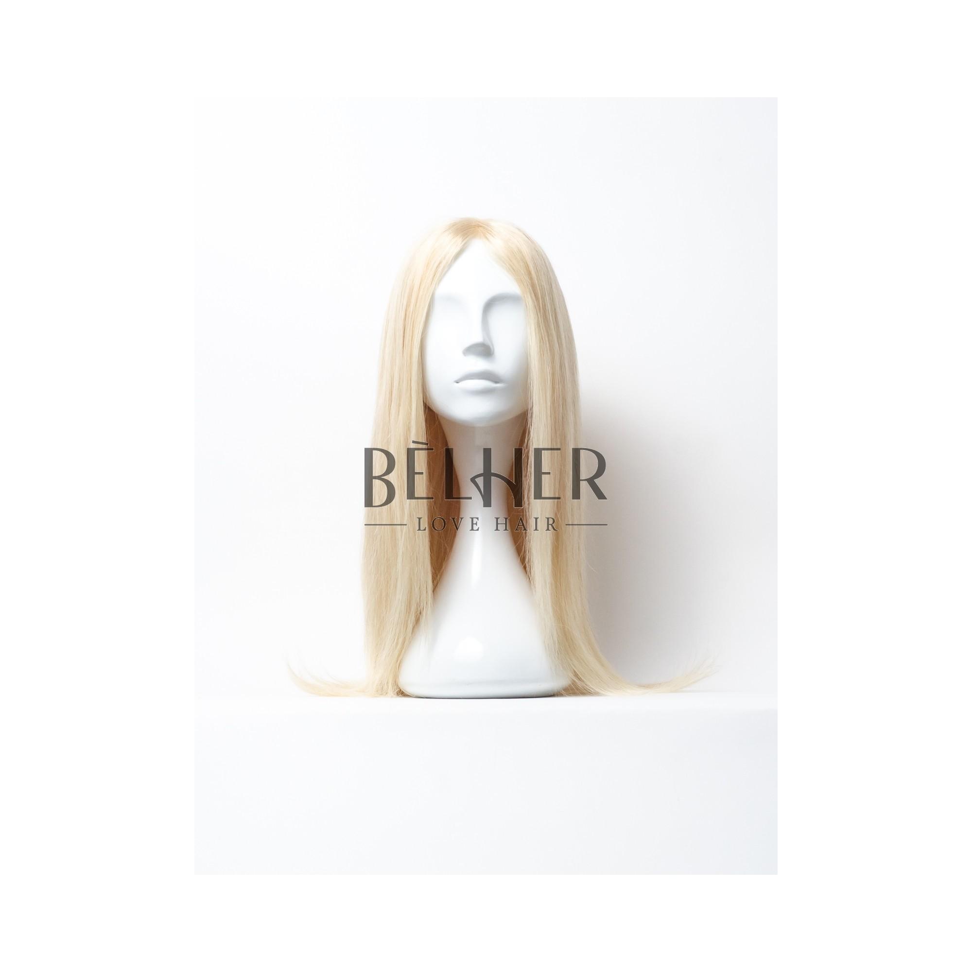 Peruca Naturala ELIZA Blond Bej