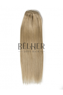 Extensii Blond Gri Clip-On Deluxe