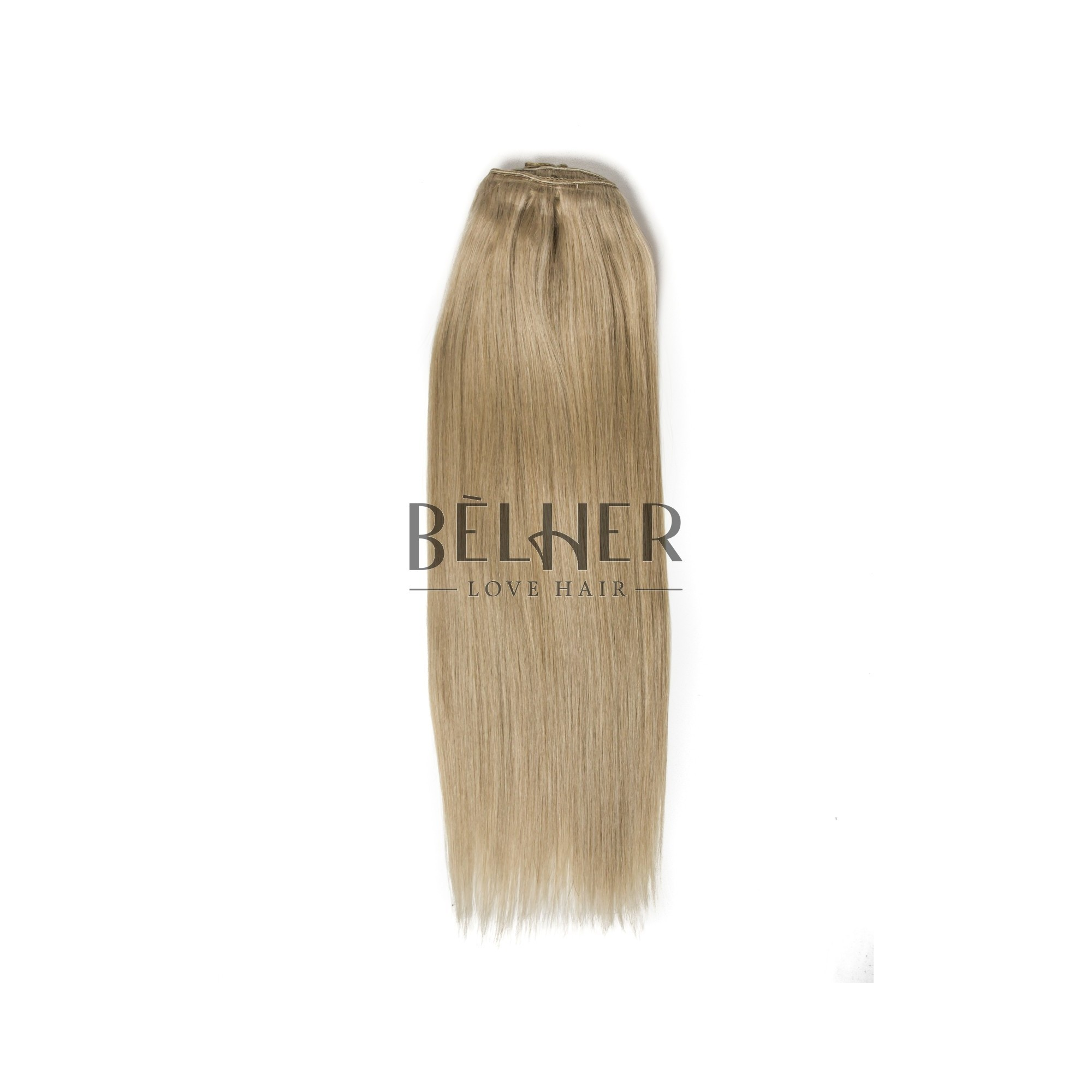 Extensii Clip-On Deluxe Blond Gri