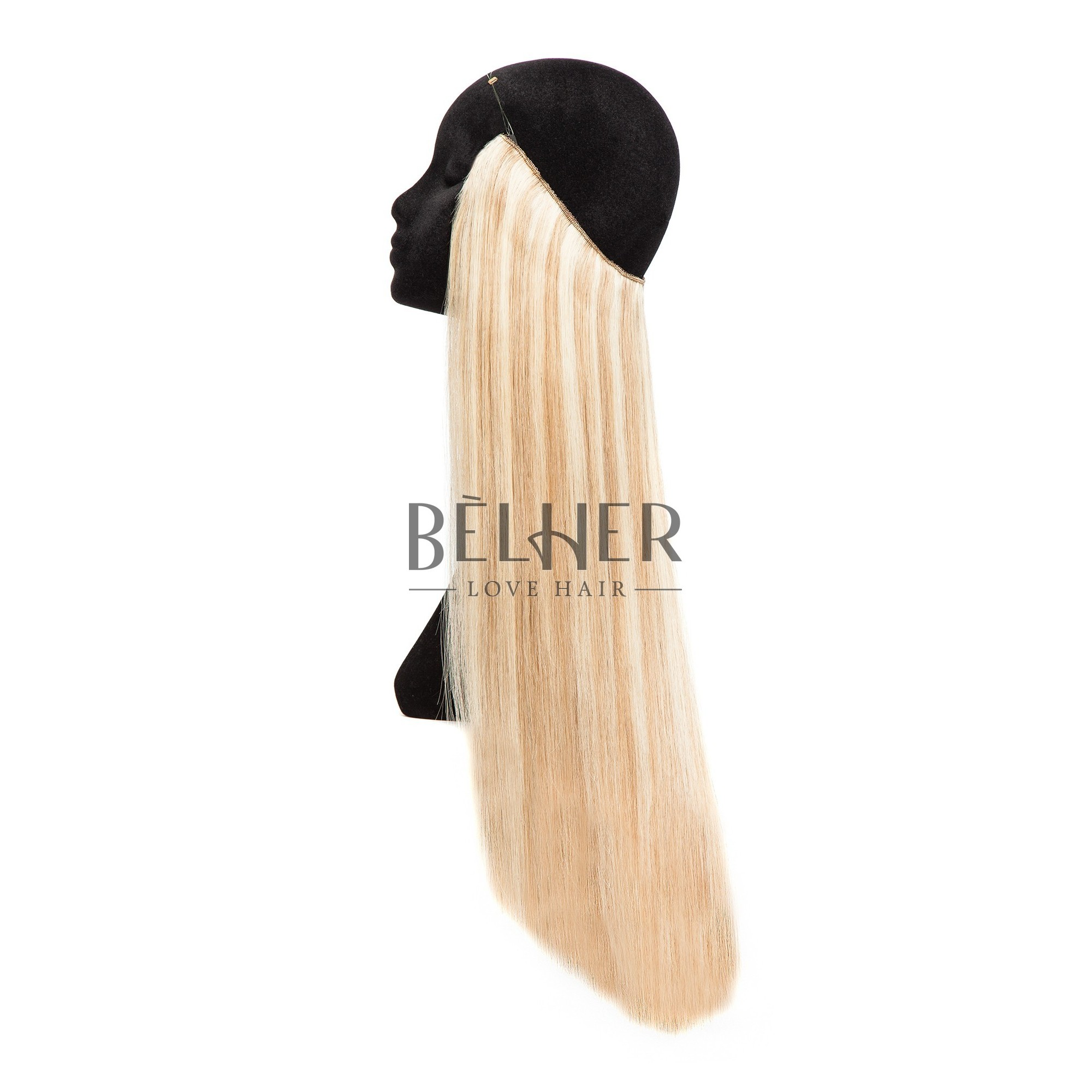 Extensii Flip-in Deluxe Mix Blond Cenusiu