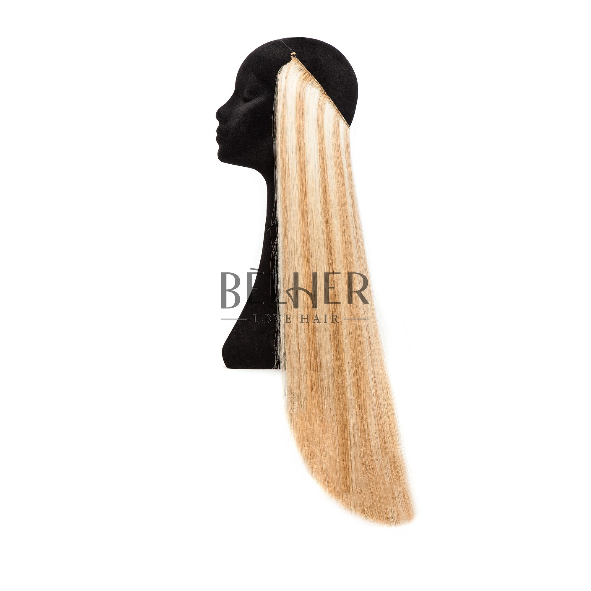 Extensii Flip-in Deluxe Mix Blond Auriu