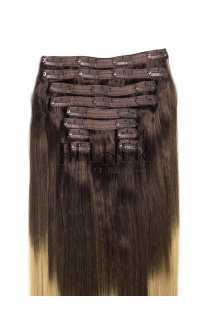Ombre Saten Natural/Blond Clip-On VIP