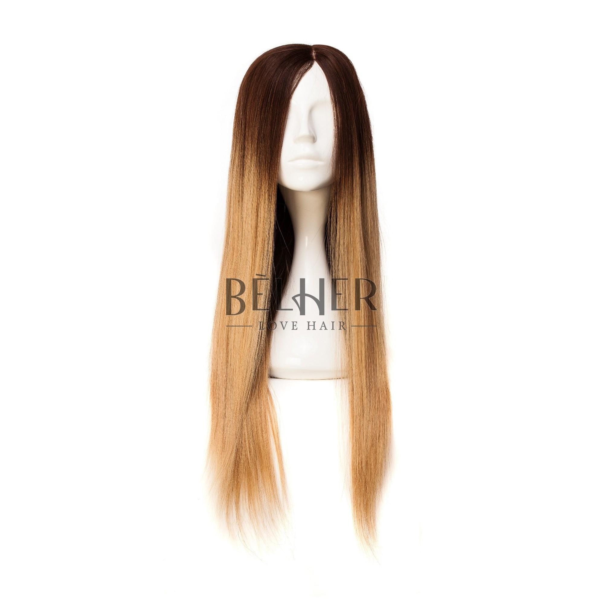 Peruca Naturala TABIA Ombre Saten-Blond Aluna