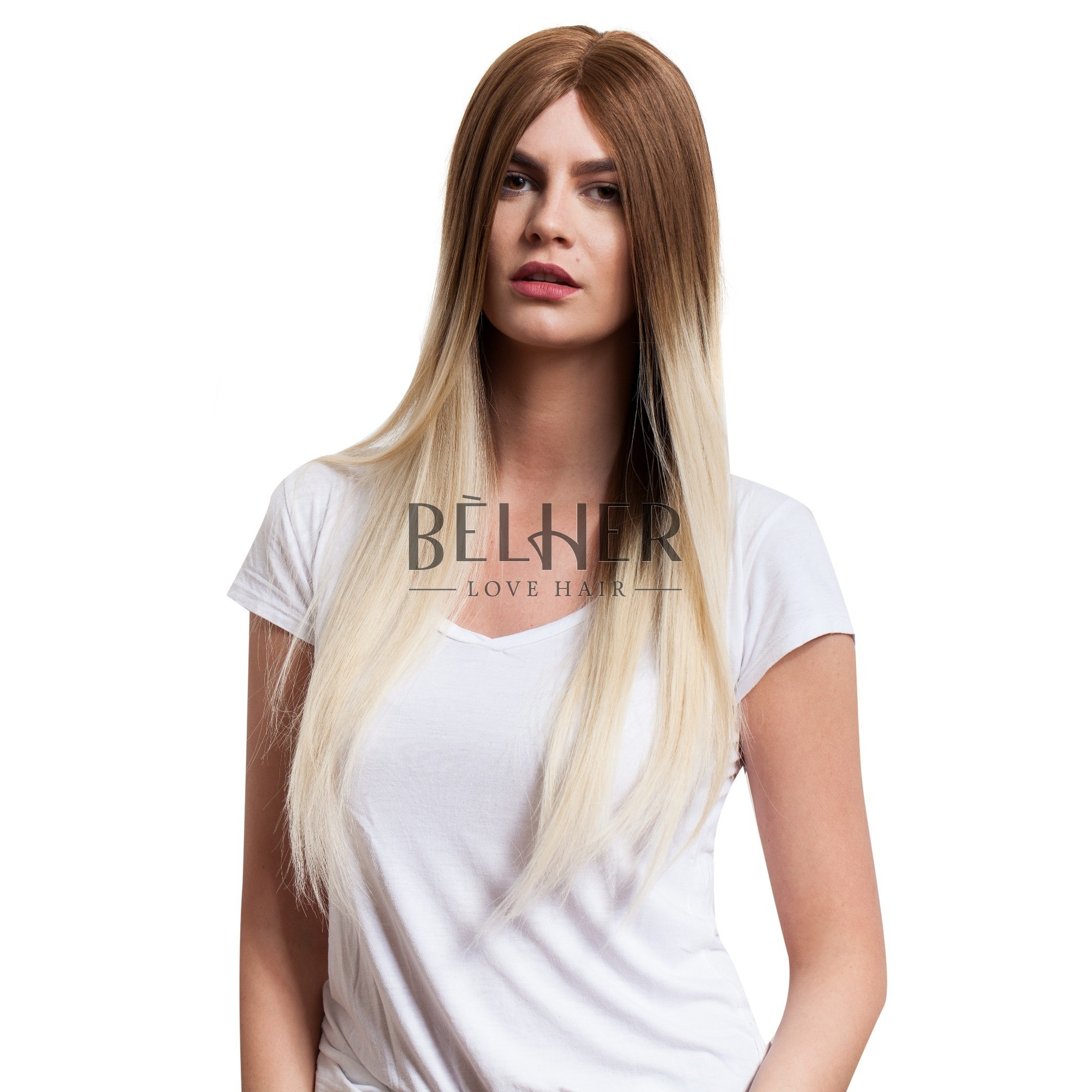 Peruca Naturala Tabia Ombre Saten Natural-blond