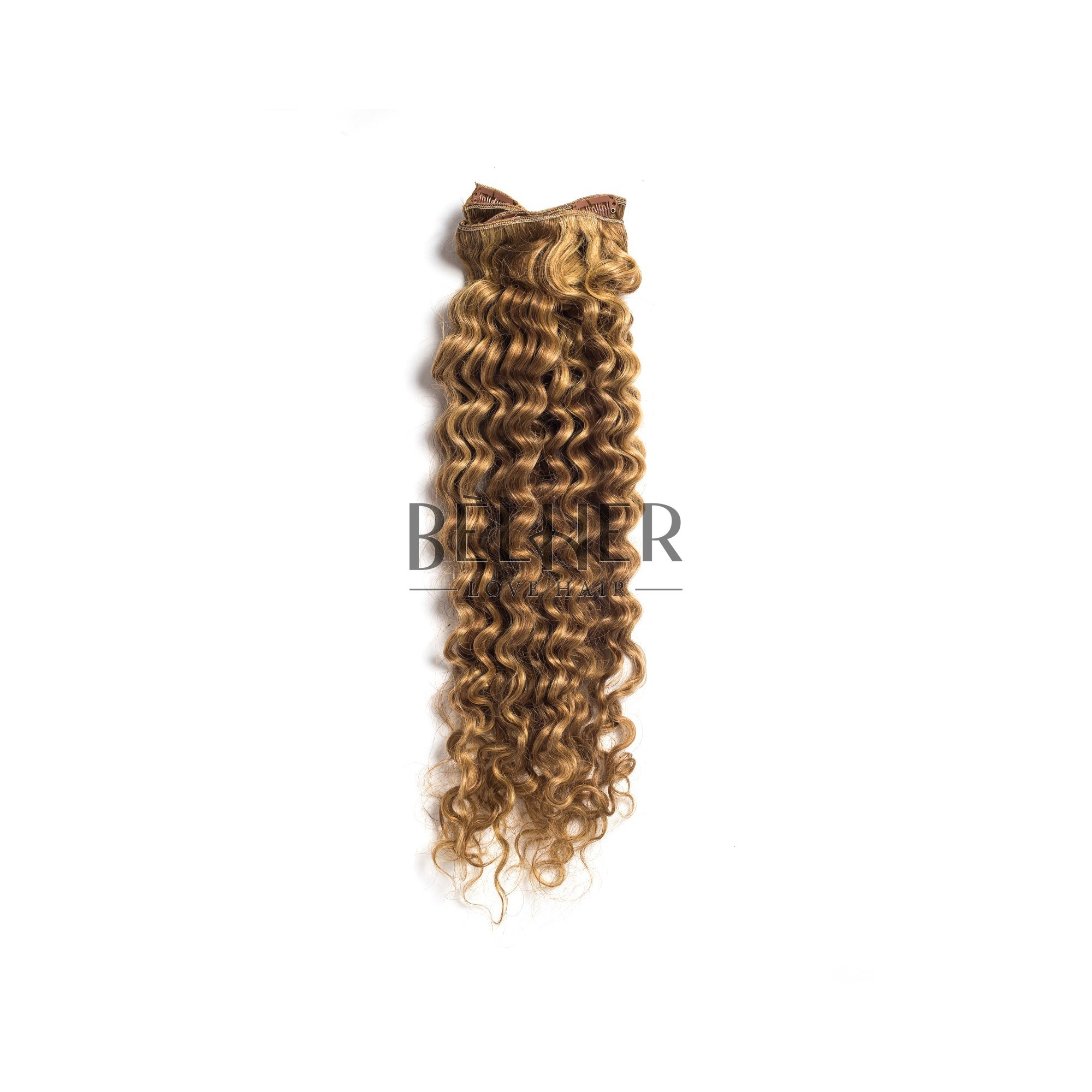 Extensii Clip-On Cret Premium Mix Blond Cenusiu