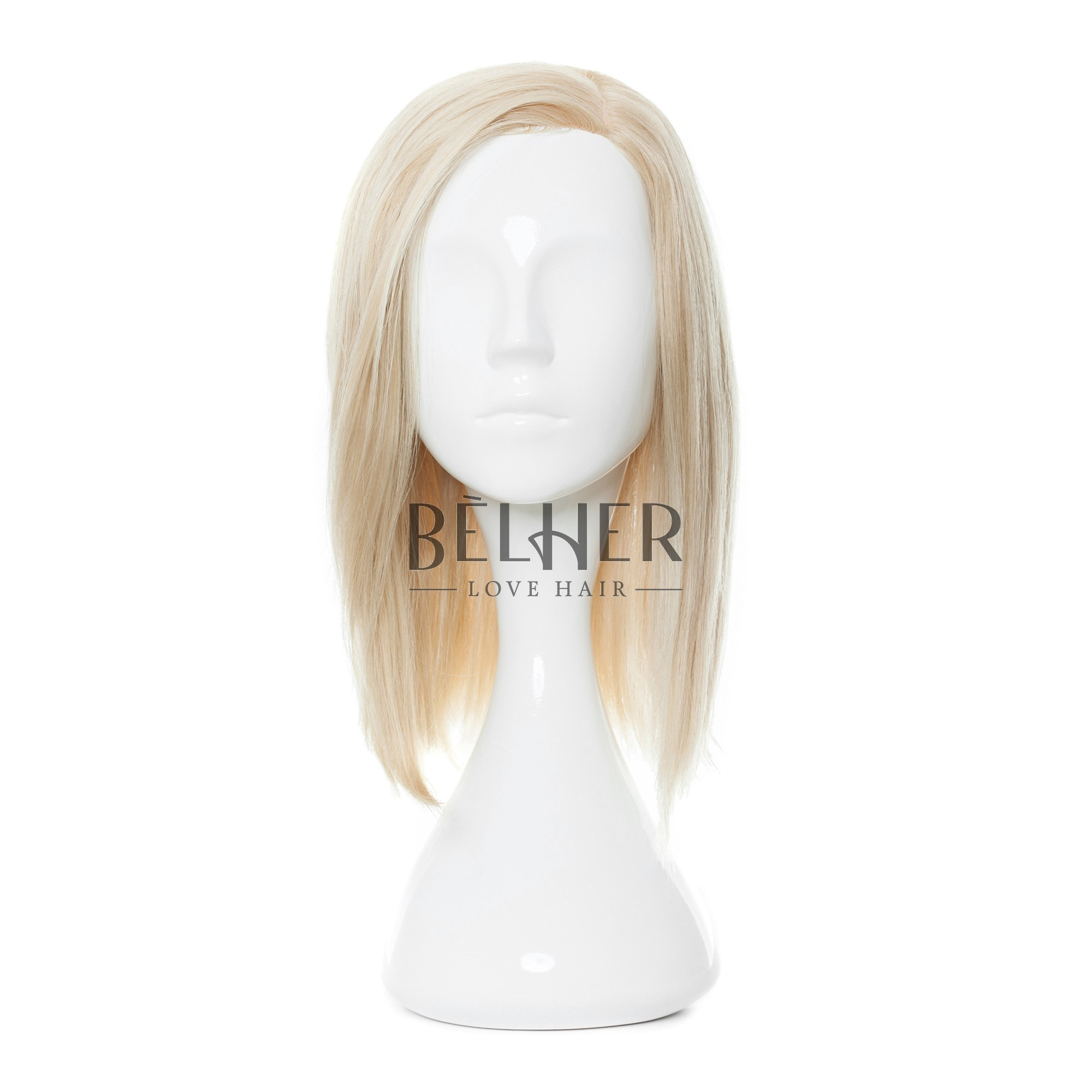 Peruca Naturala MAYA Blond Argintiu