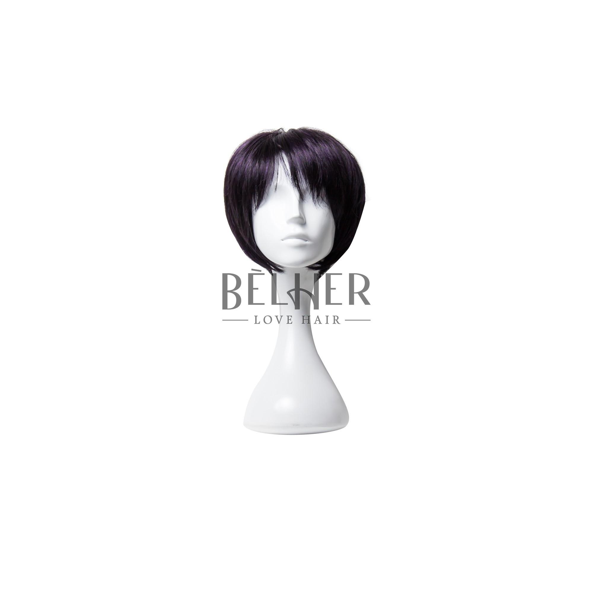 Peruca LEONOR Negru Violet