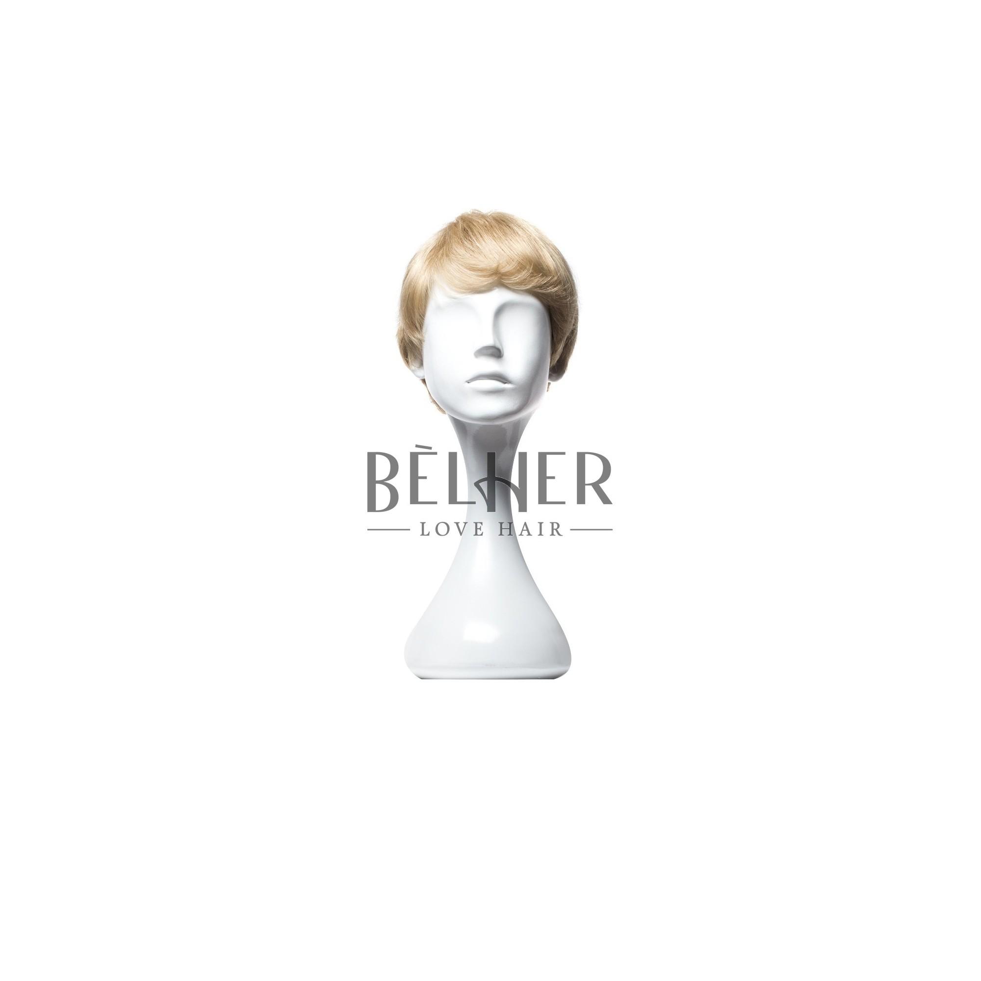 Imagine 1089.75 lei - Peruca Naturala Lili Blond Cenusiu Deschis