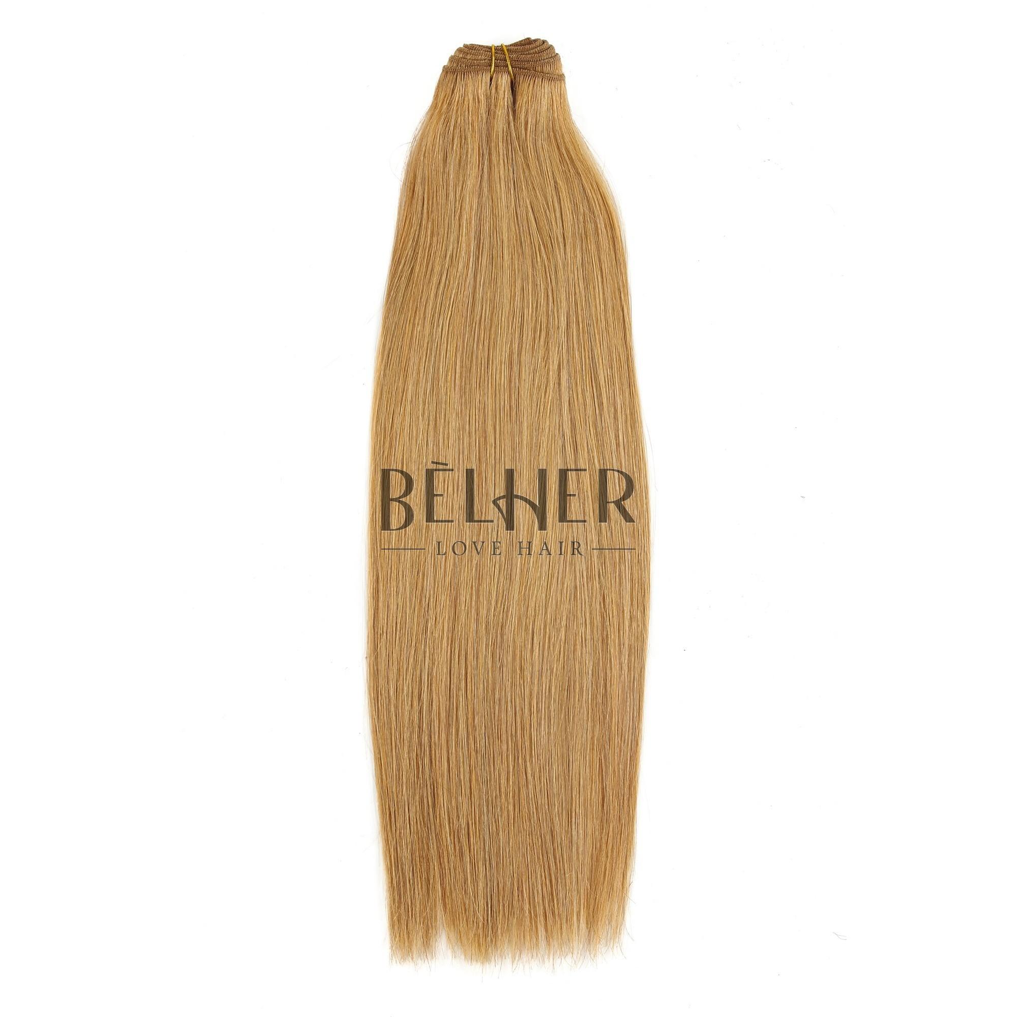 Extensii Cusute Premium Blond Miere