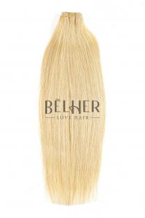 Blond  Deschis Cenusiu Extensii Cusute Premium