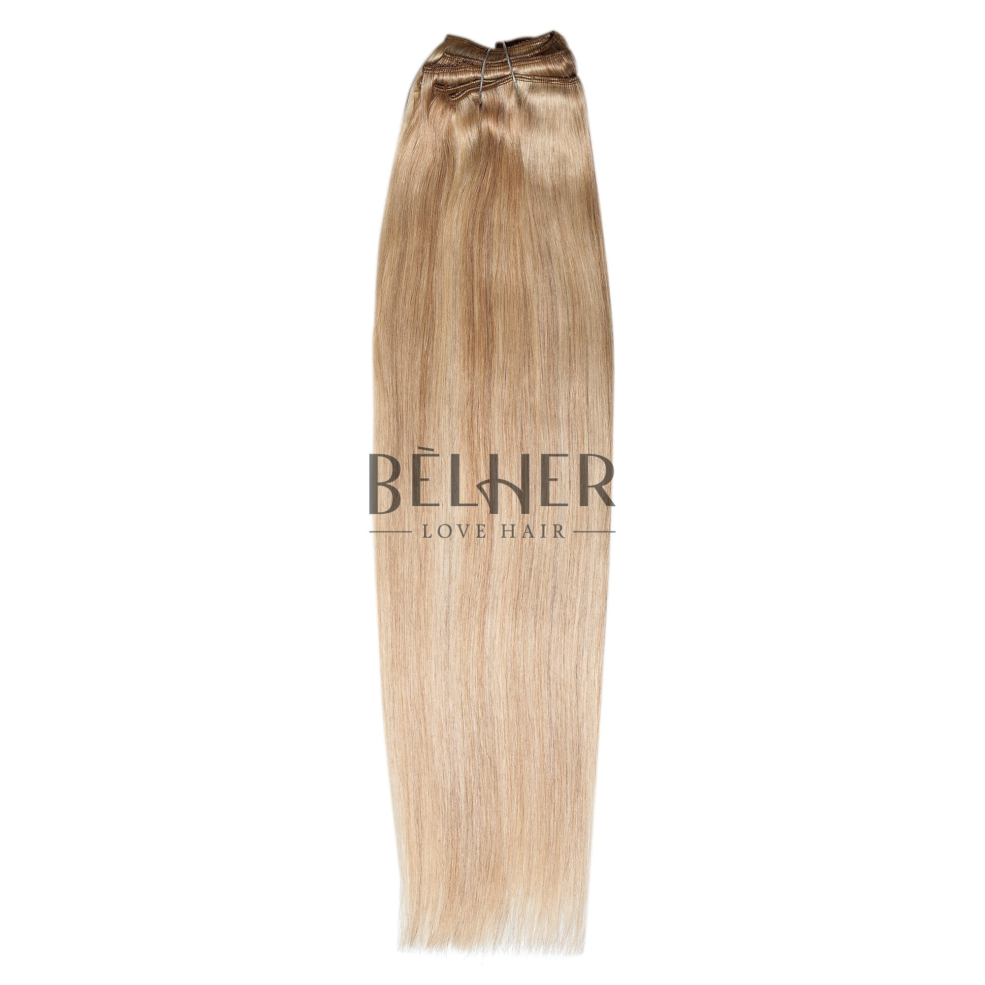 Extensii Clip-On Deluxe Mix Blond Cenusiu