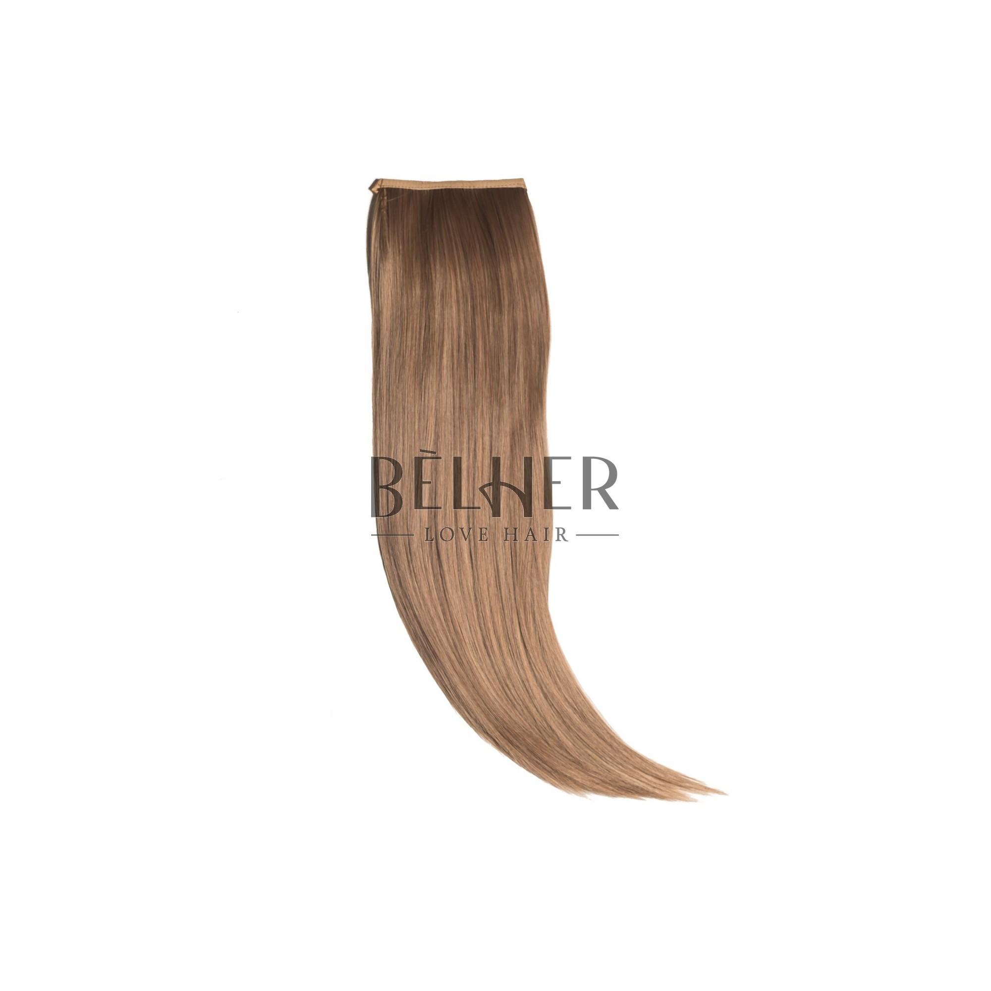 Coada Par Drept Blond Inchis Auriu