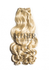Blond Platinat Extensii Clip-On