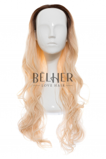 Peruca Partiala 3/4 Ombre Blond Bej