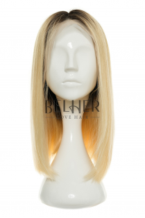 Peruca Naturala ANEMONA Ombre Brunet/Blond