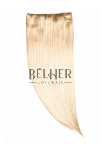 Blond Deschis Cenusiu Tresa Clip-On