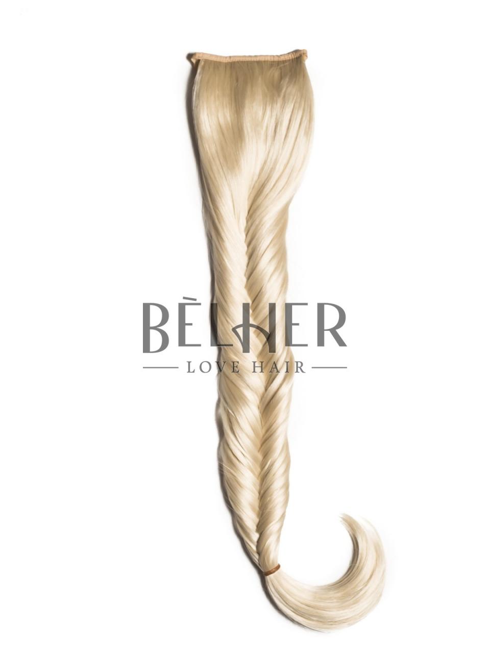 Blond Deschis Coada Par Impletit